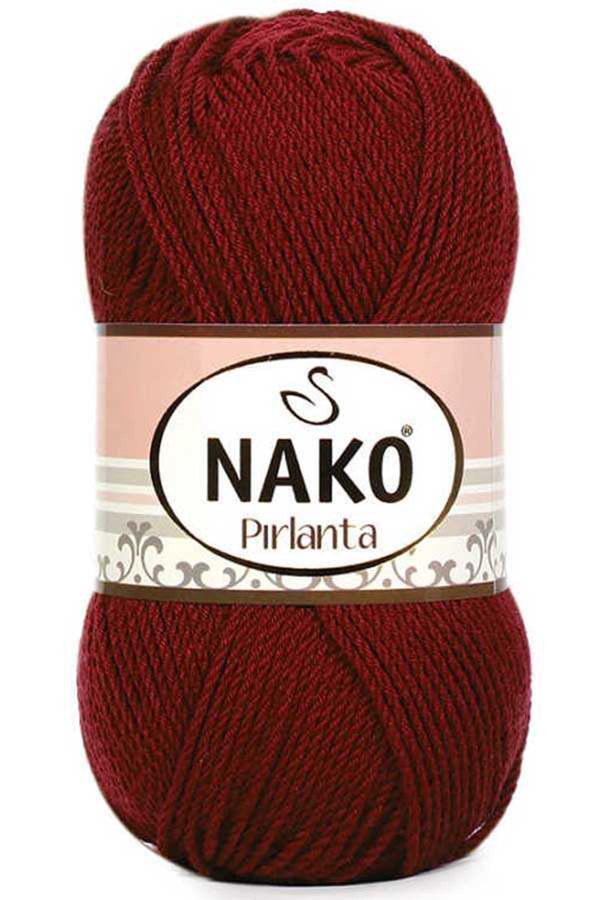 Nako Pırlanta-1175 Koyu Kırmızı