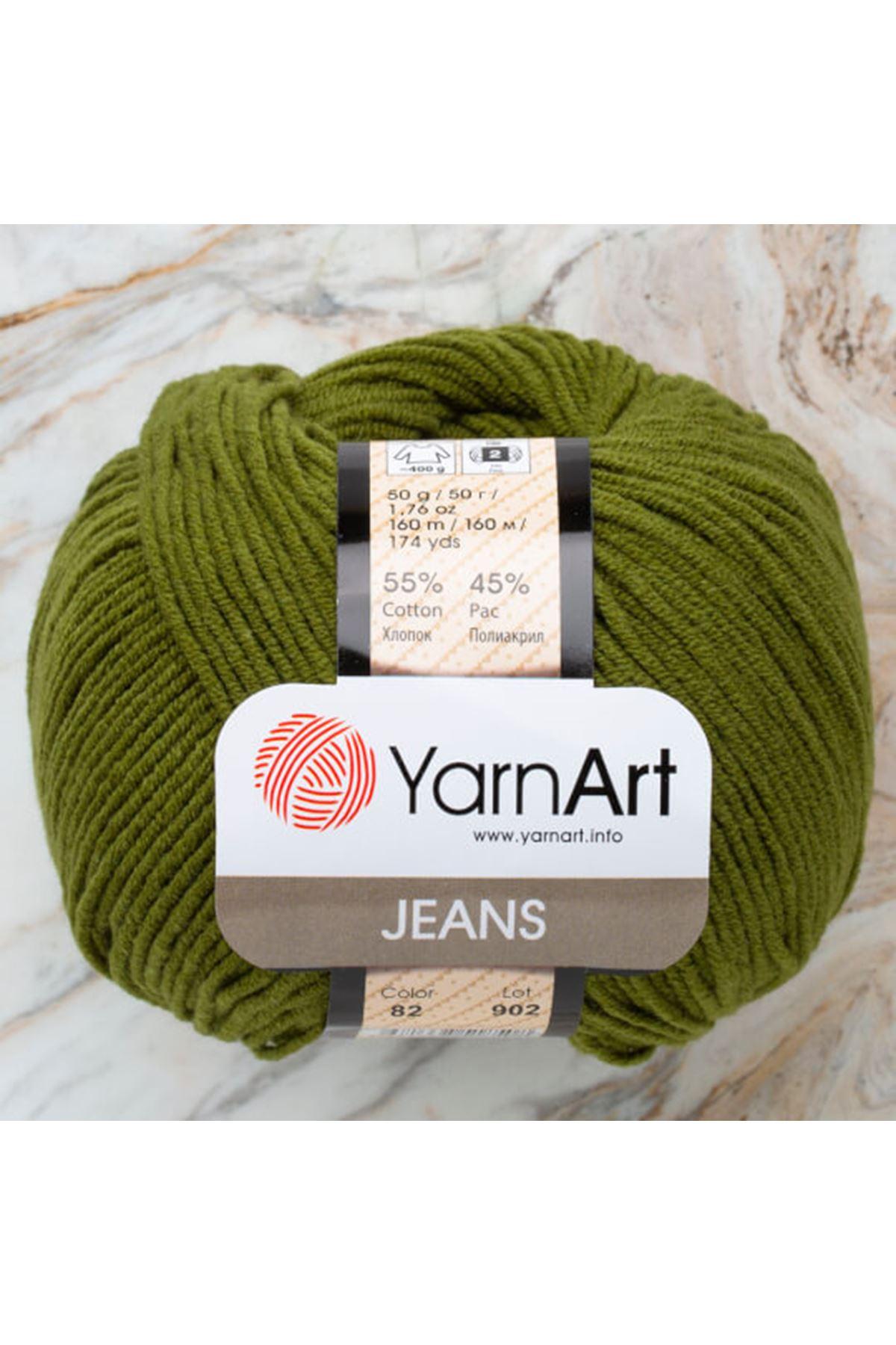 Yarnart Jeans 82 Nefti