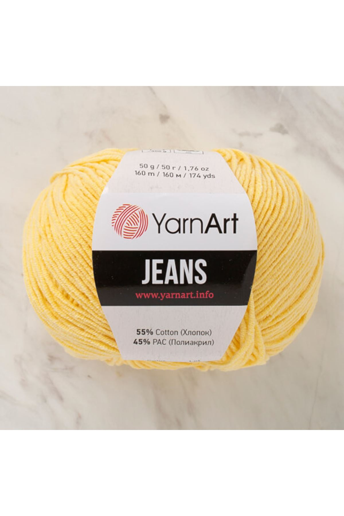 Yarnart Jeans 88 Papatya