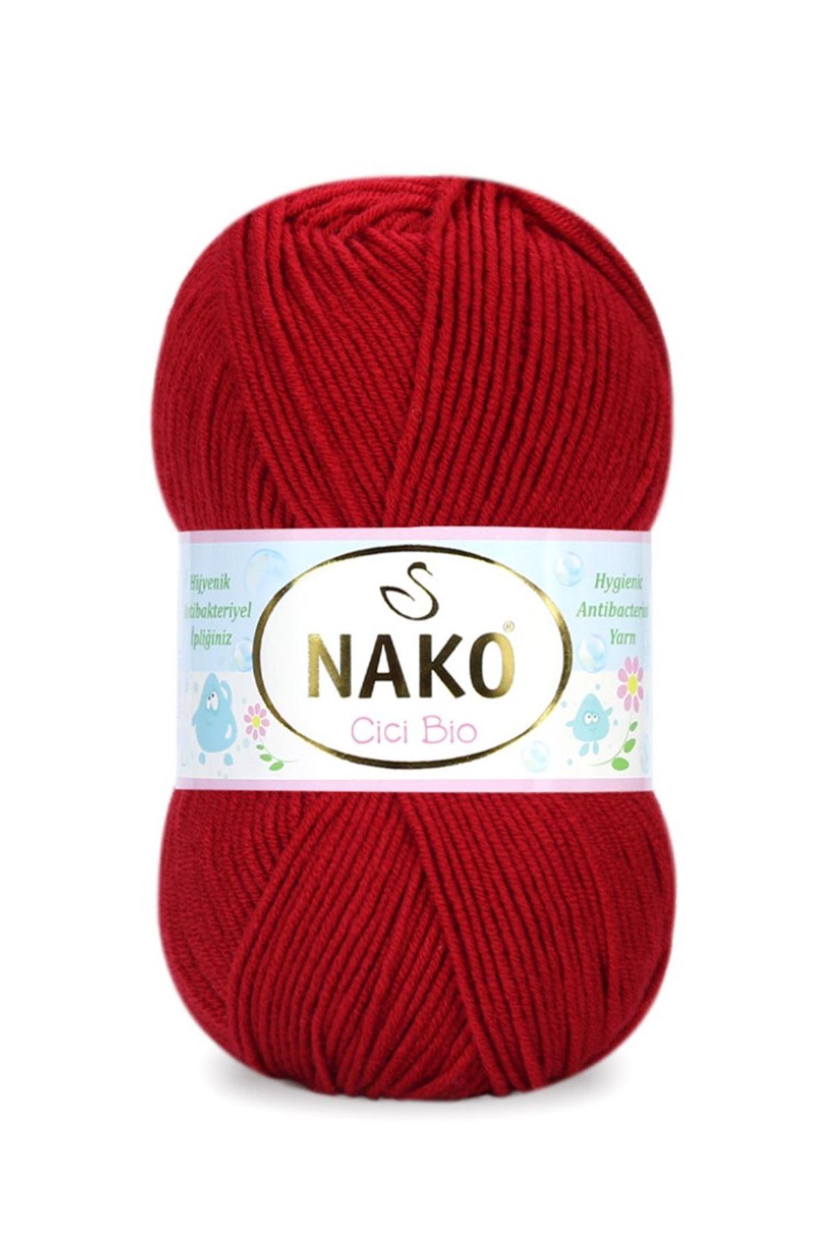 Nako Cici Bio 4675 Kırmızı
