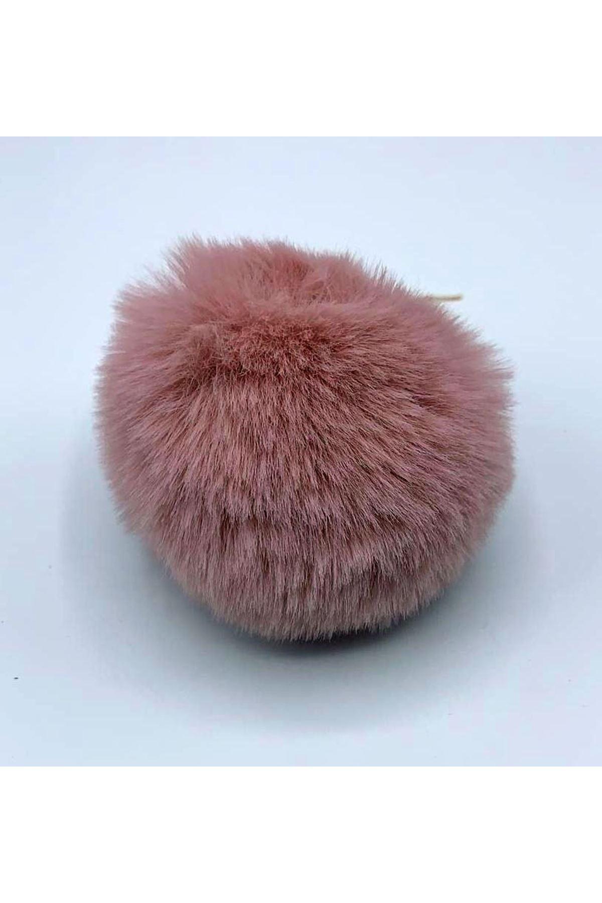 Şapka Ponponu 01 Pudra