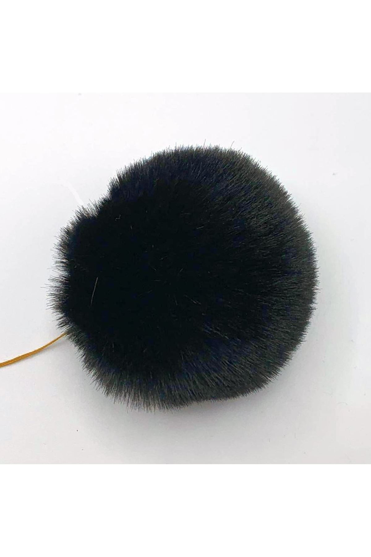Şapka Ponponu 04 Siyah