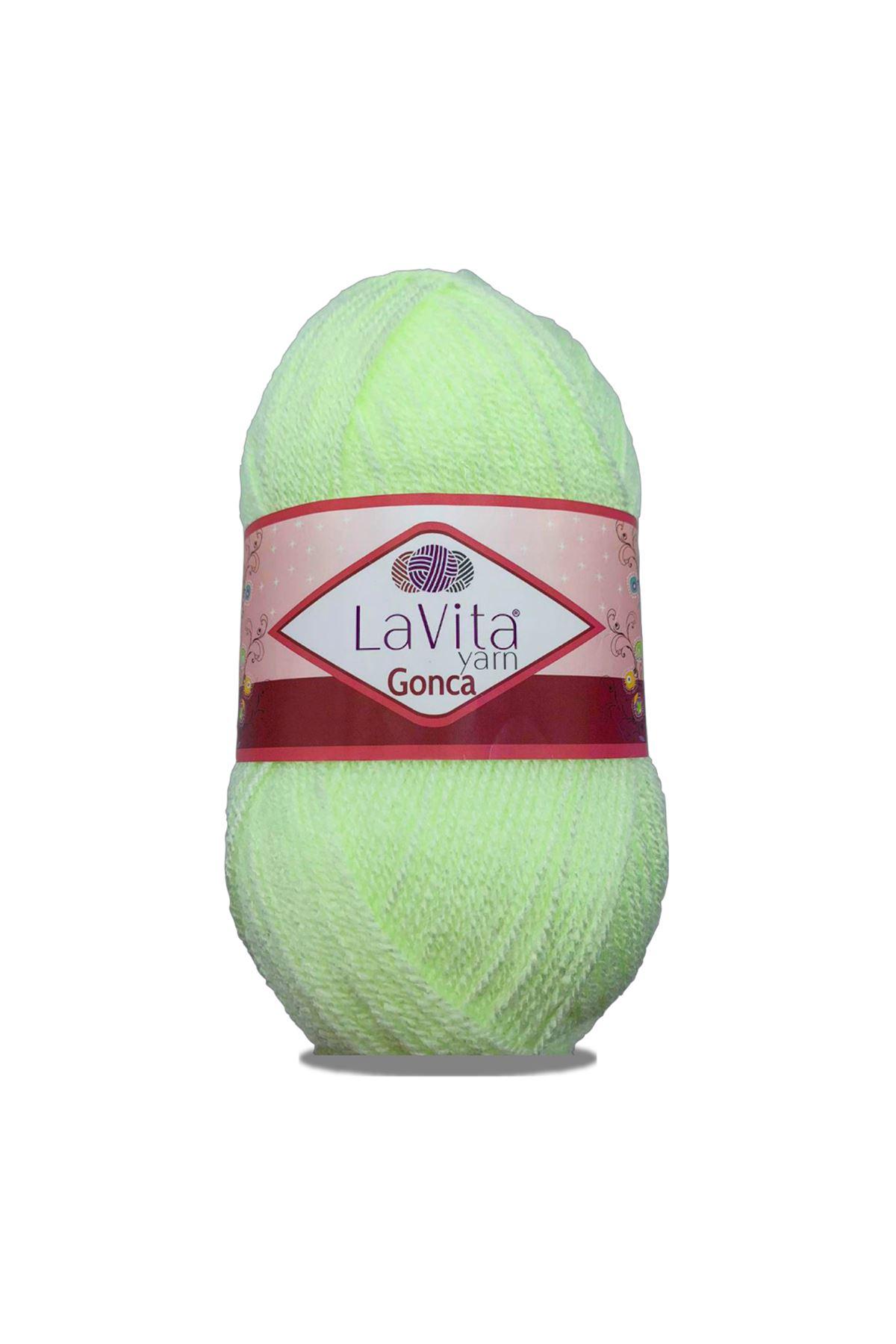 Lavita Gonca 8206 Açık Neon Yeşil