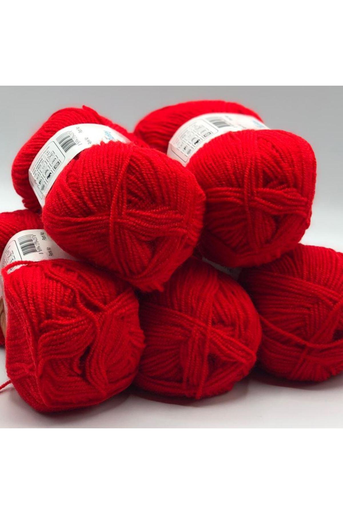 Outlet Bebe İpi 5'li Paket 1269 Kırmızı