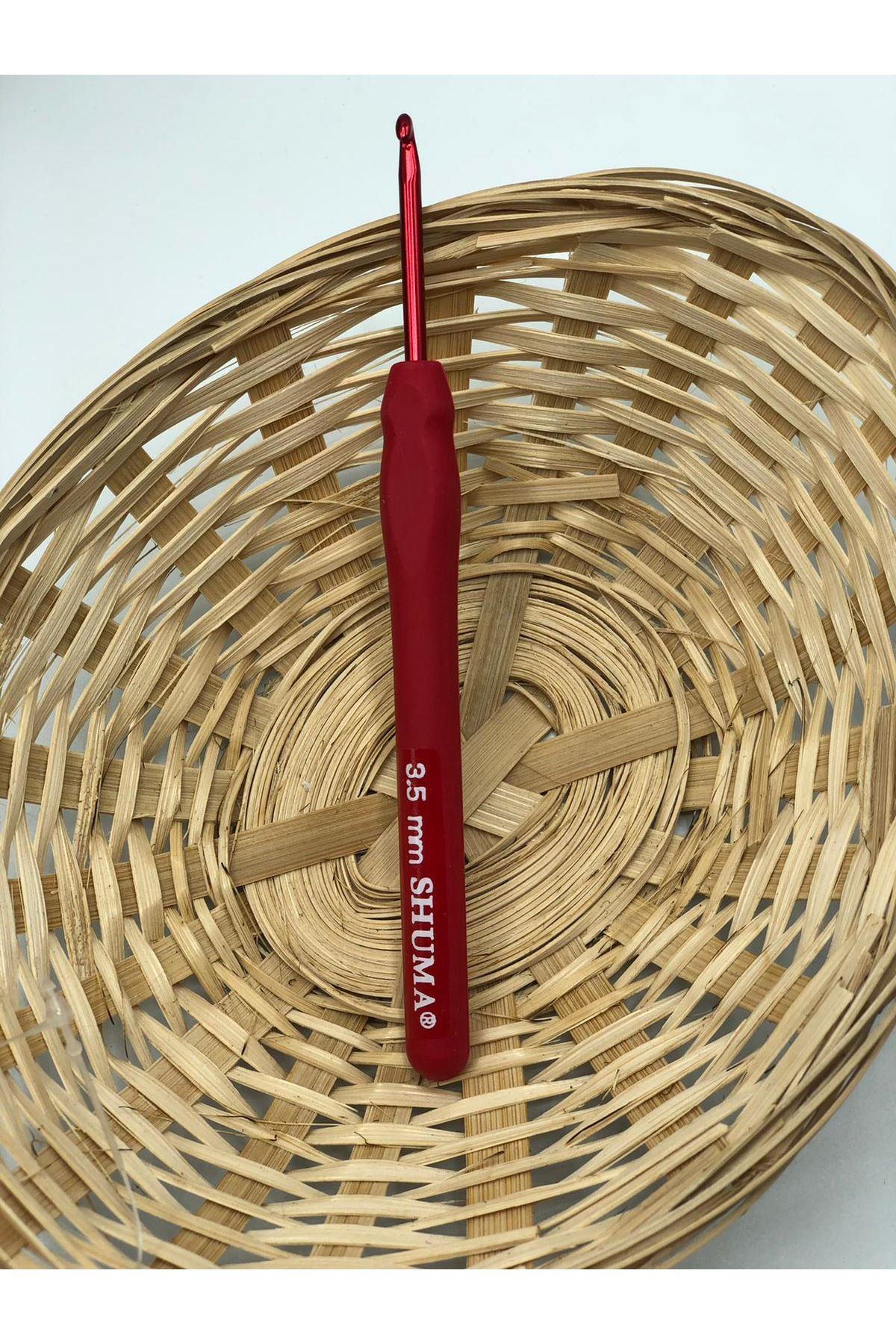 Shuma Kırmızı Örgü Tığı 3,5 mm