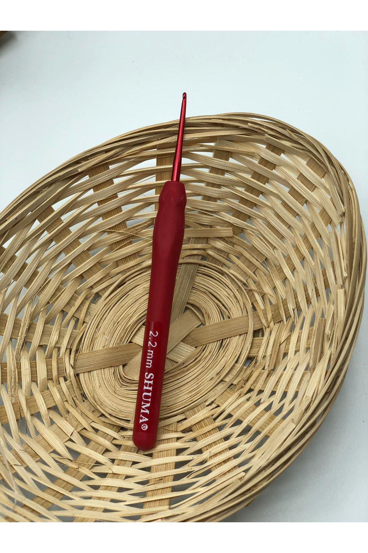 Shuma Kırmızı Örgü Tığı 2,20 mm