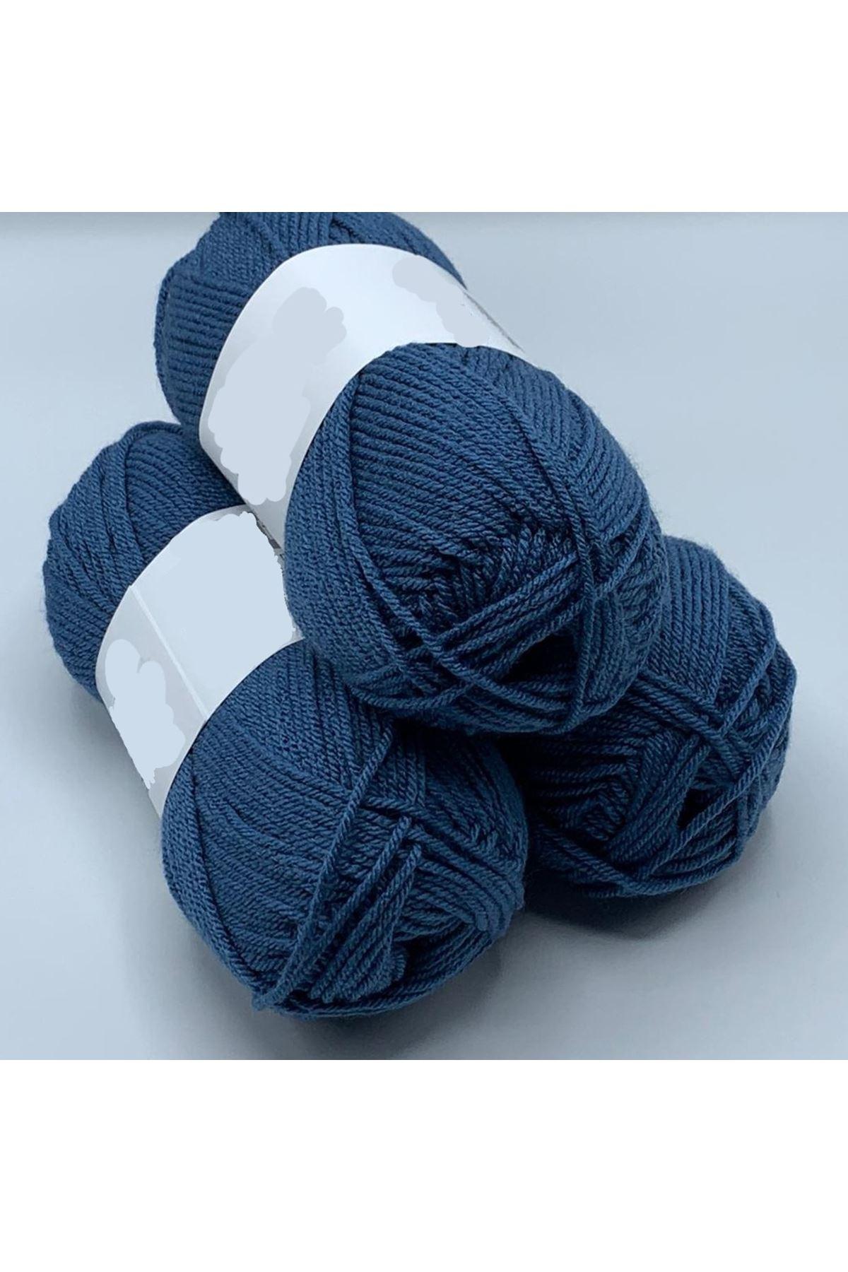 3'lü Paket  Akrilik 156 Mavi