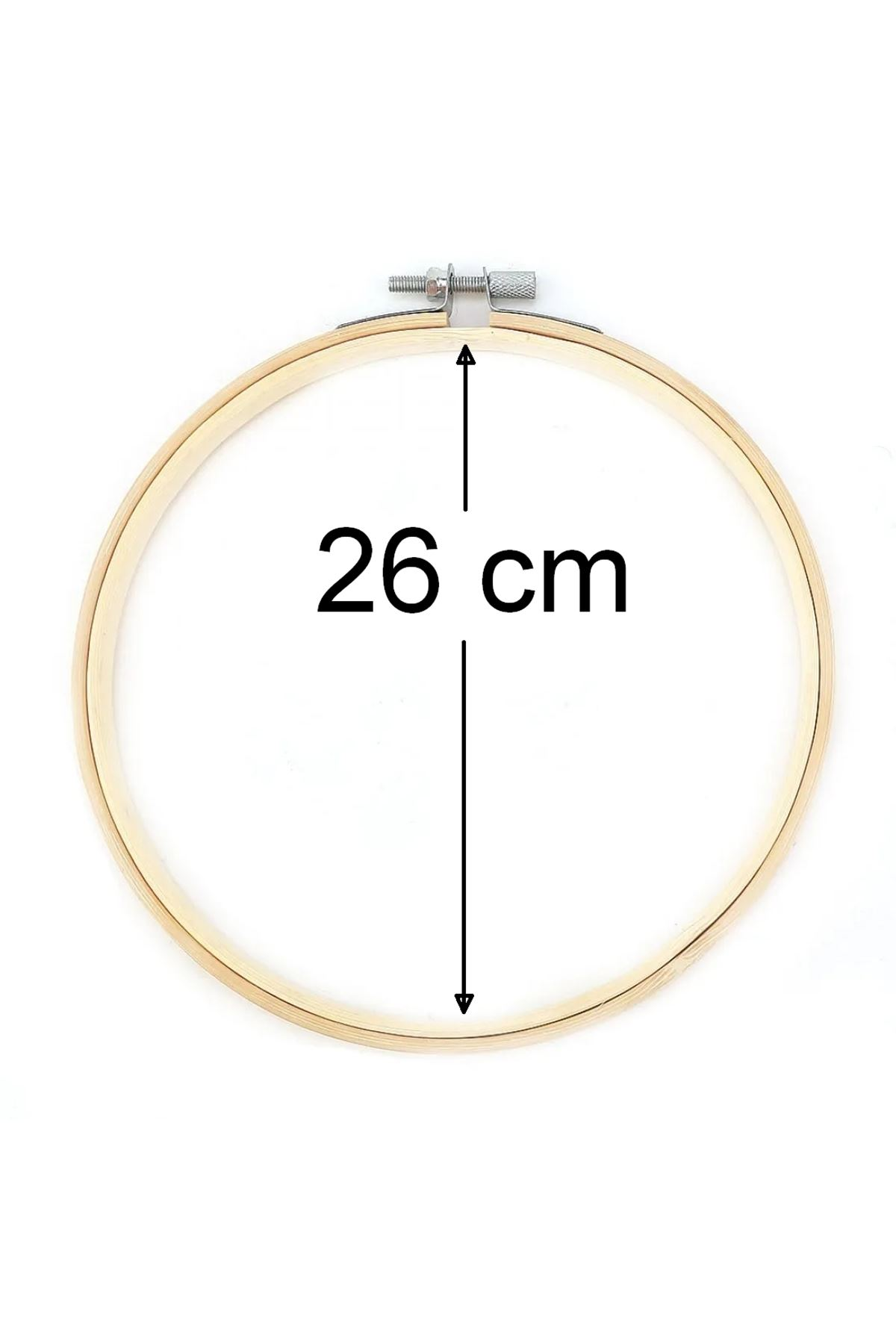 Bambu Kasnak Vidalı 26 cm