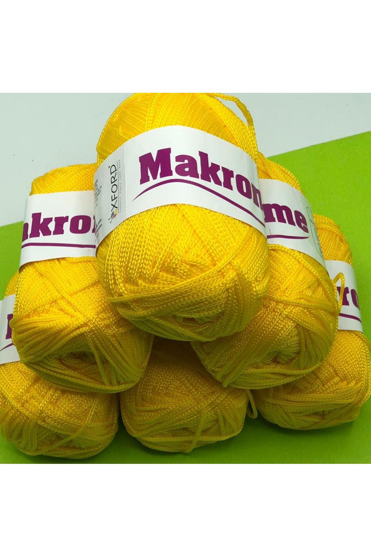 Polyester Makrome Grup - 04 Sarı