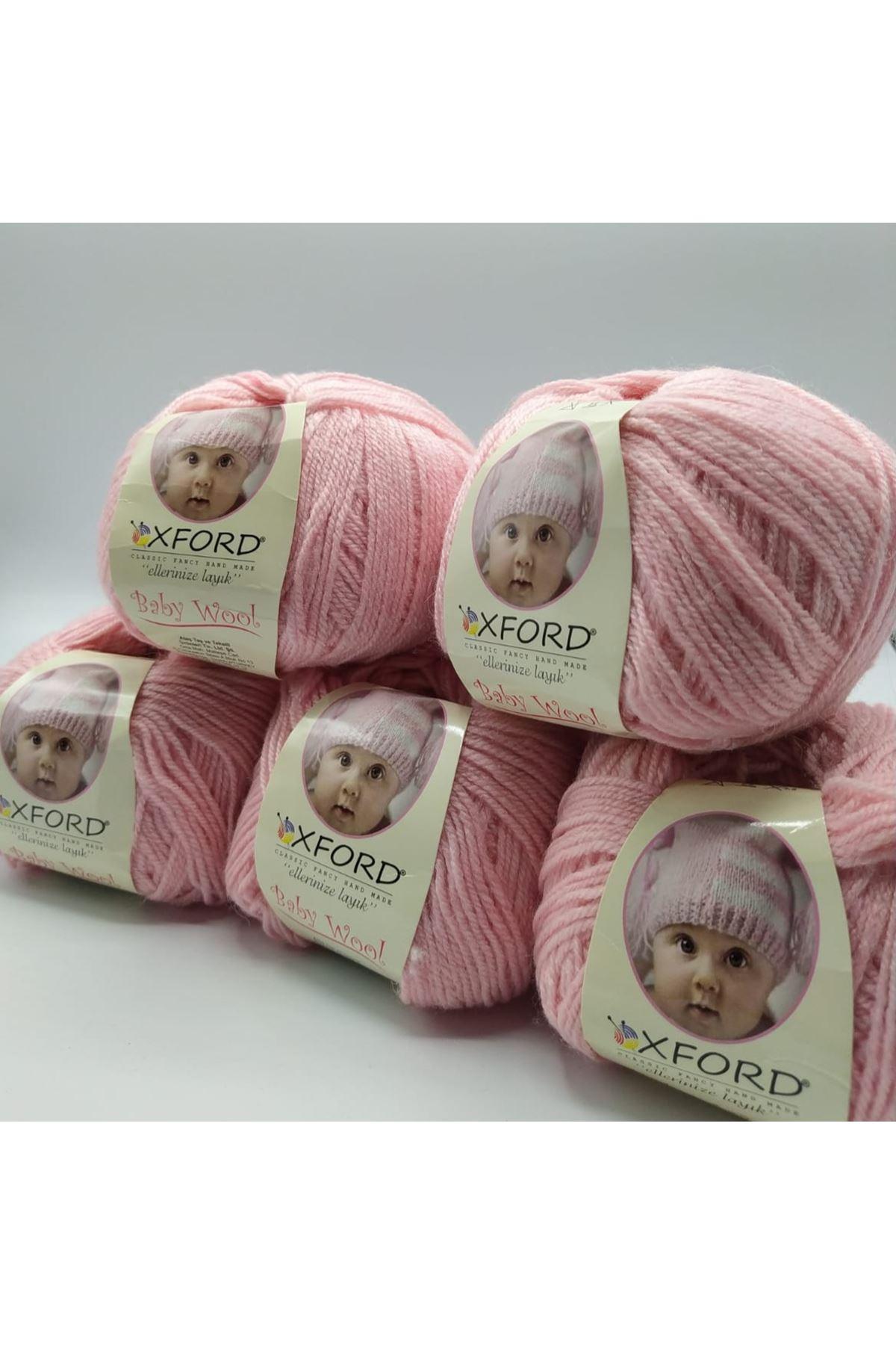 Outlet Baby Wool 5'li Grup - Bebe Pembe