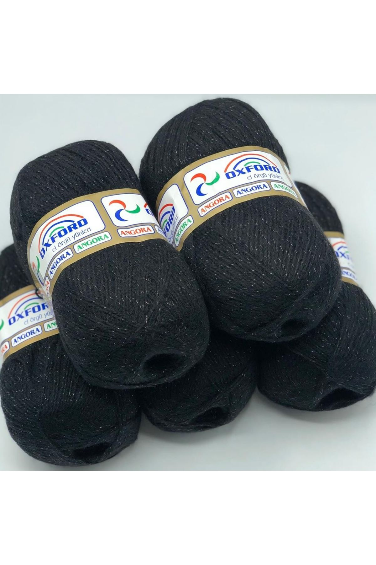 İhrac Fazlası 200 - 5'li Paket Simli Tiftik Siyah