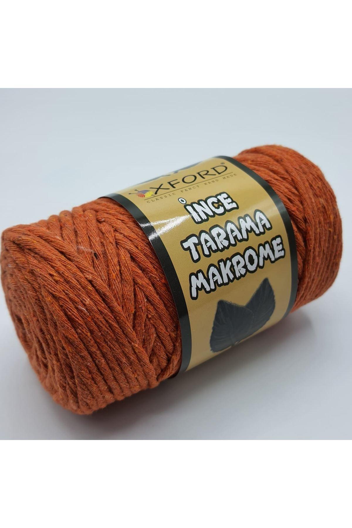 Tarama Makrome 3 mm -024 Turuncu