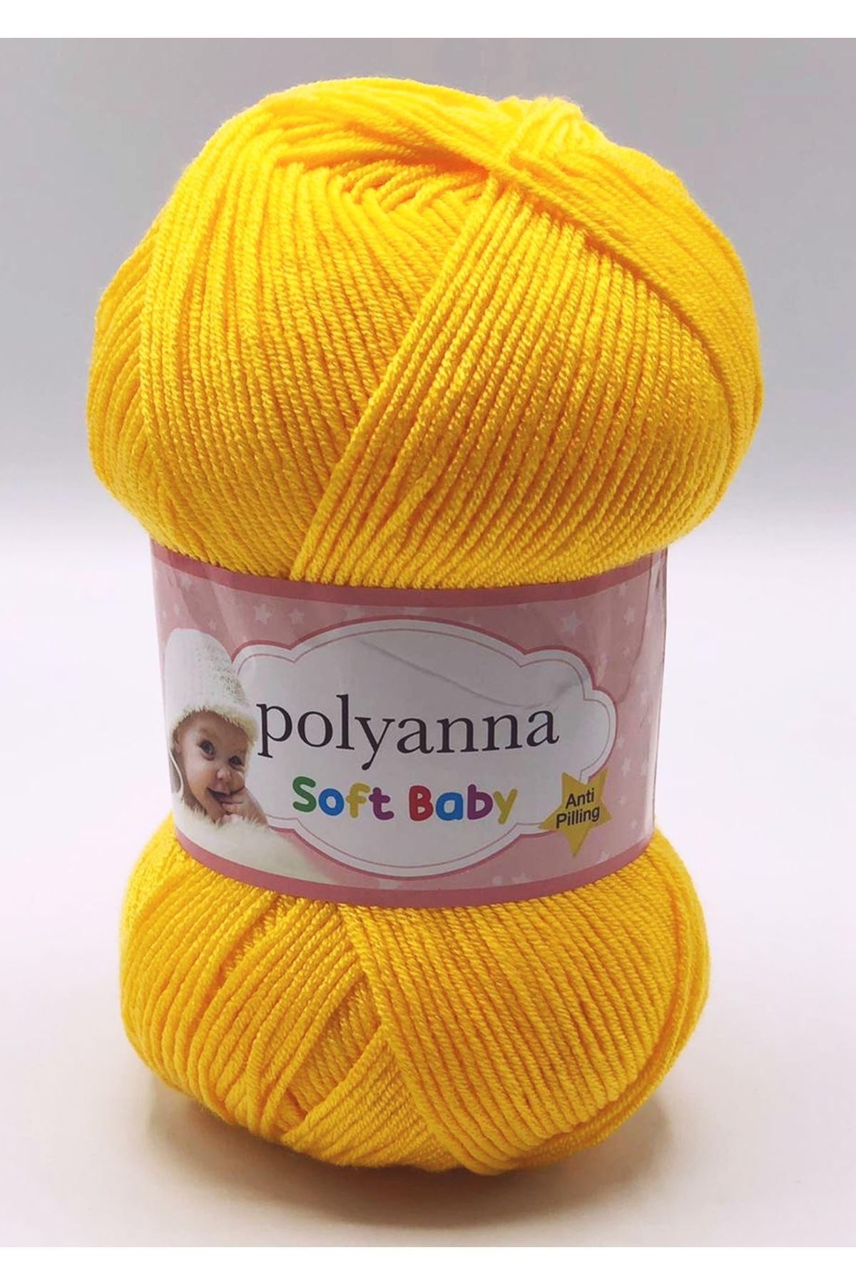 Polyanna Soft Baby 104 Koyu Sarı