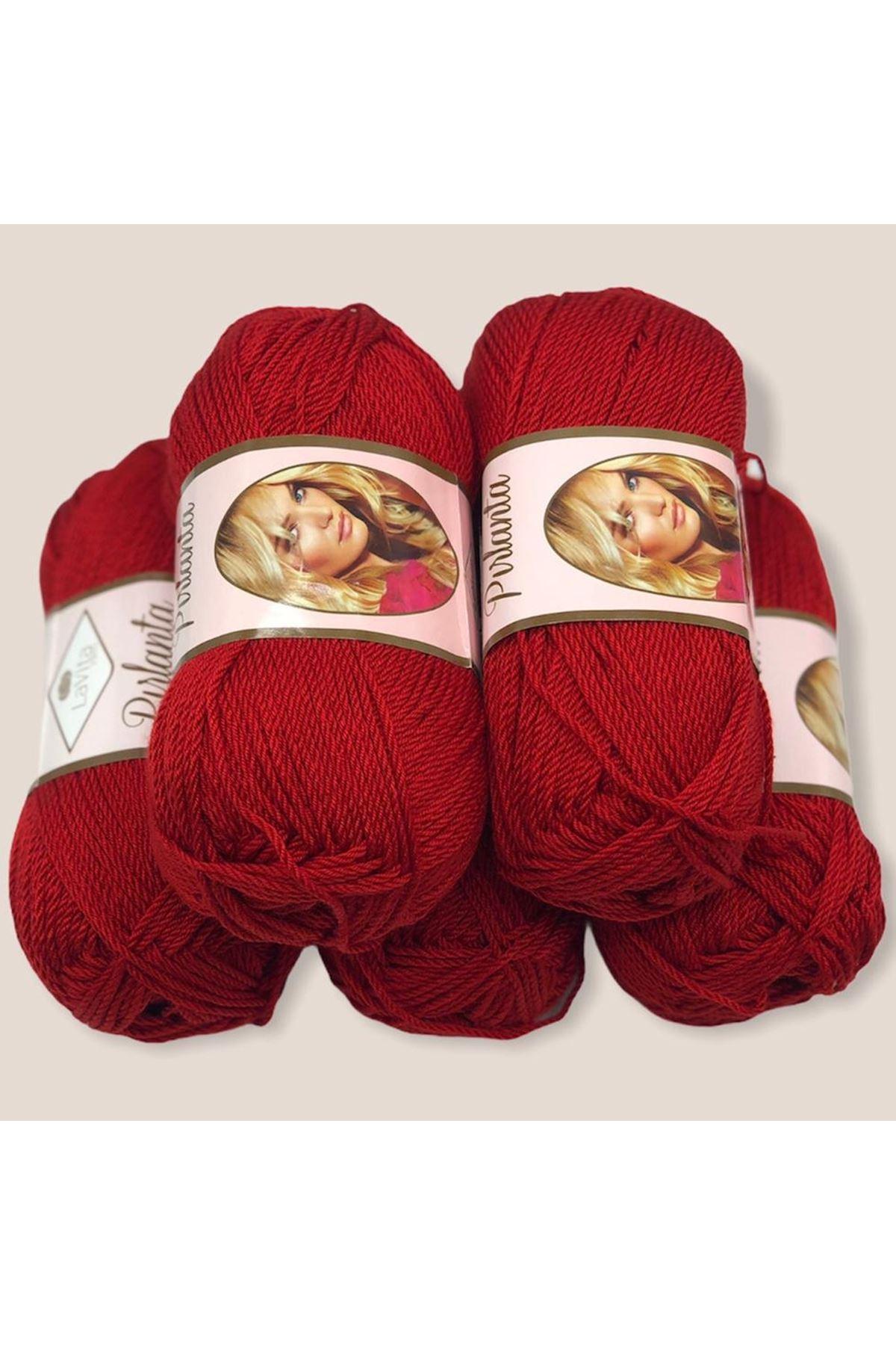 Lavita Pırlanta - 5'li Paket 0136 Koyu Kırmızı
