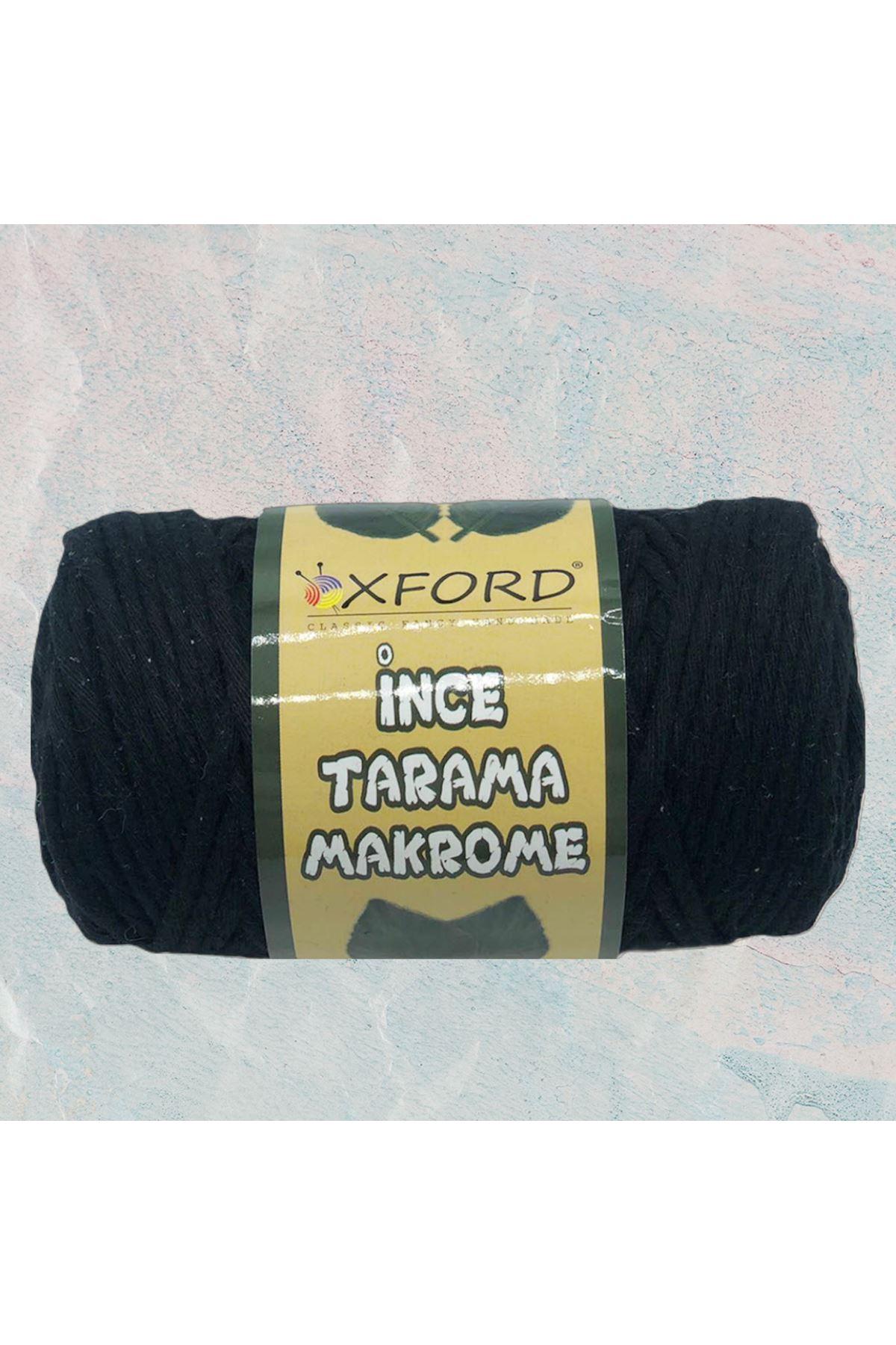 Tarama Makrome 3 mm - 2012 Siyah