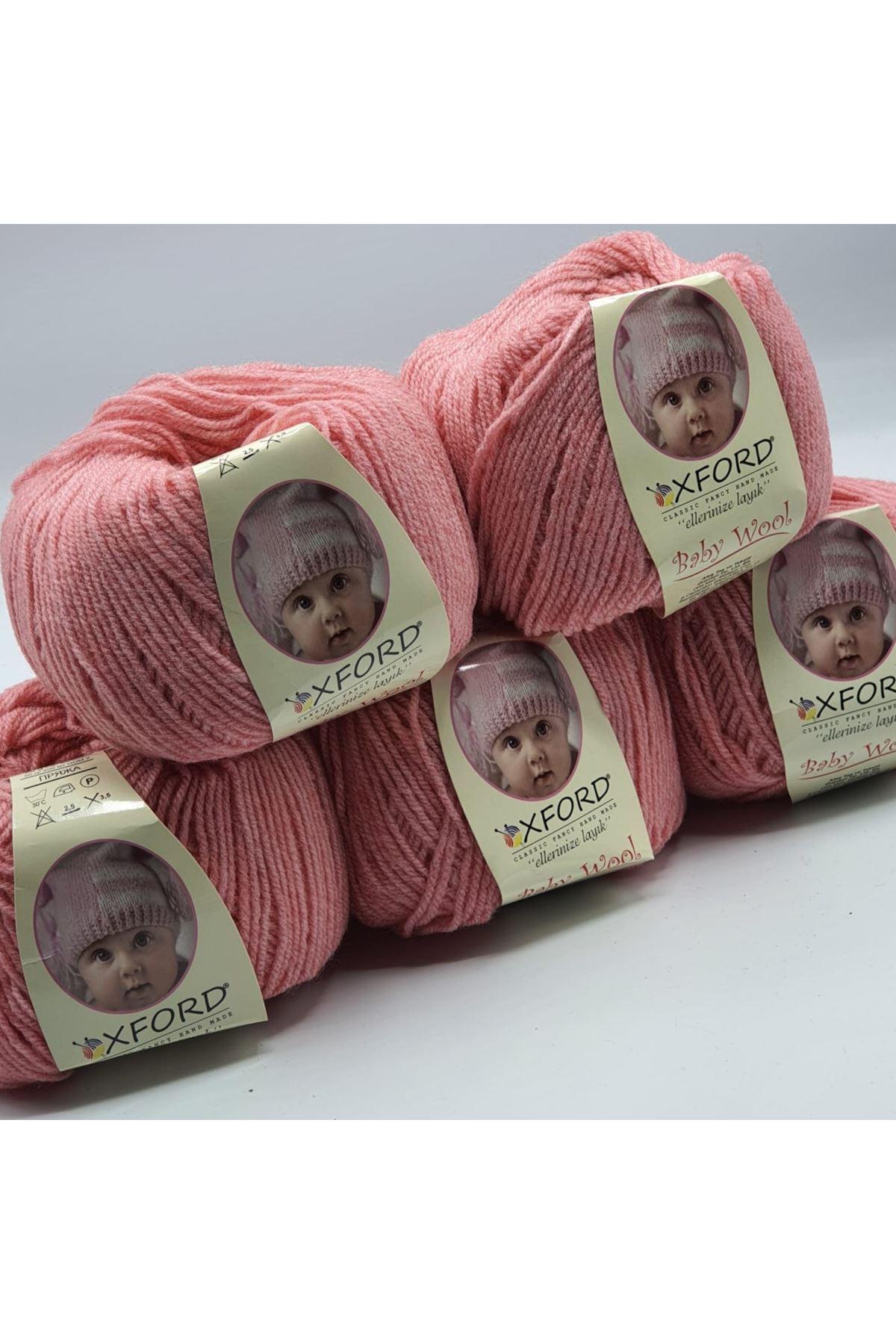Outlet Baby Wool 5'li Grup - Karanfil Pembe