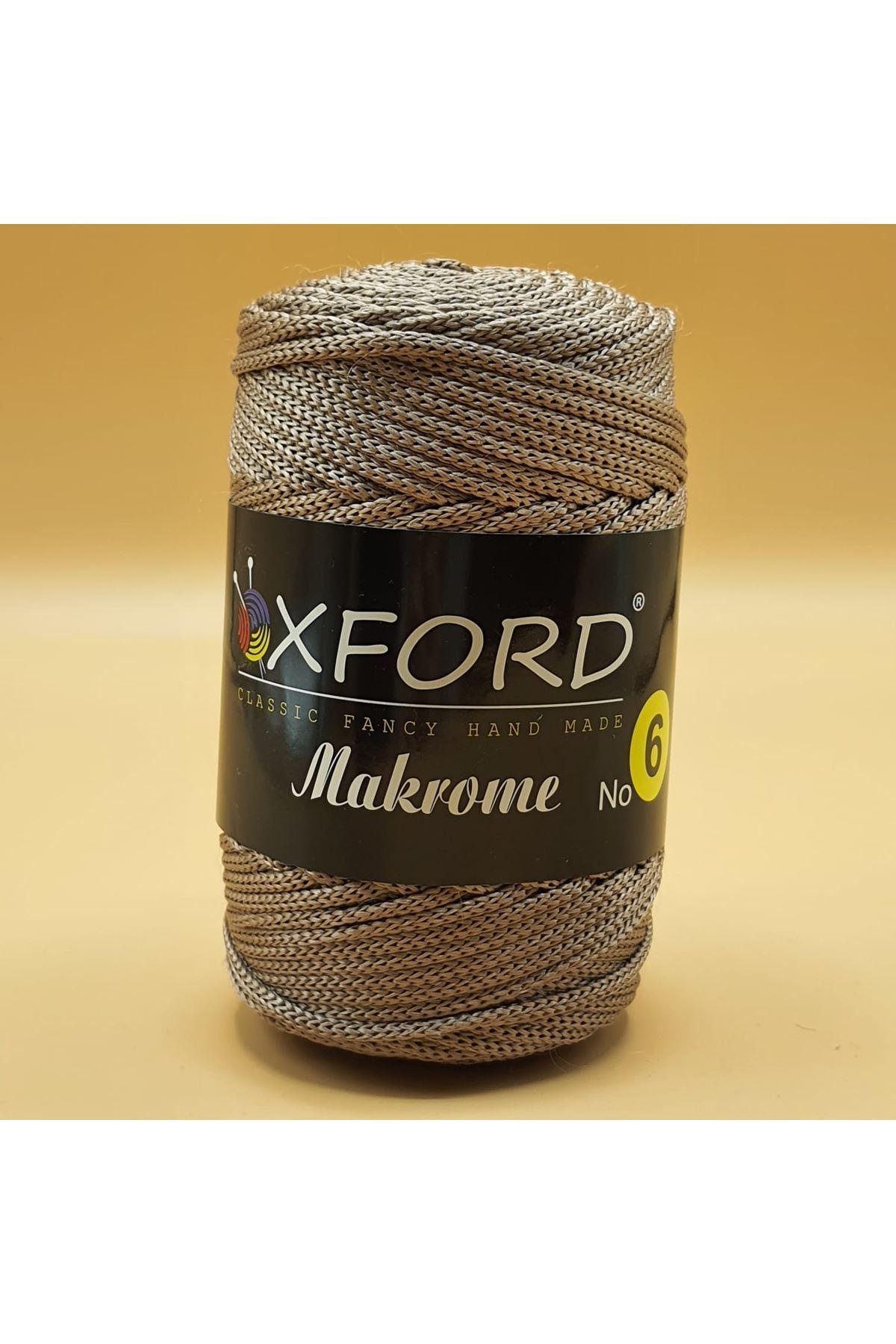 Oxford 6 No Makrome - 106 Sütlükahve