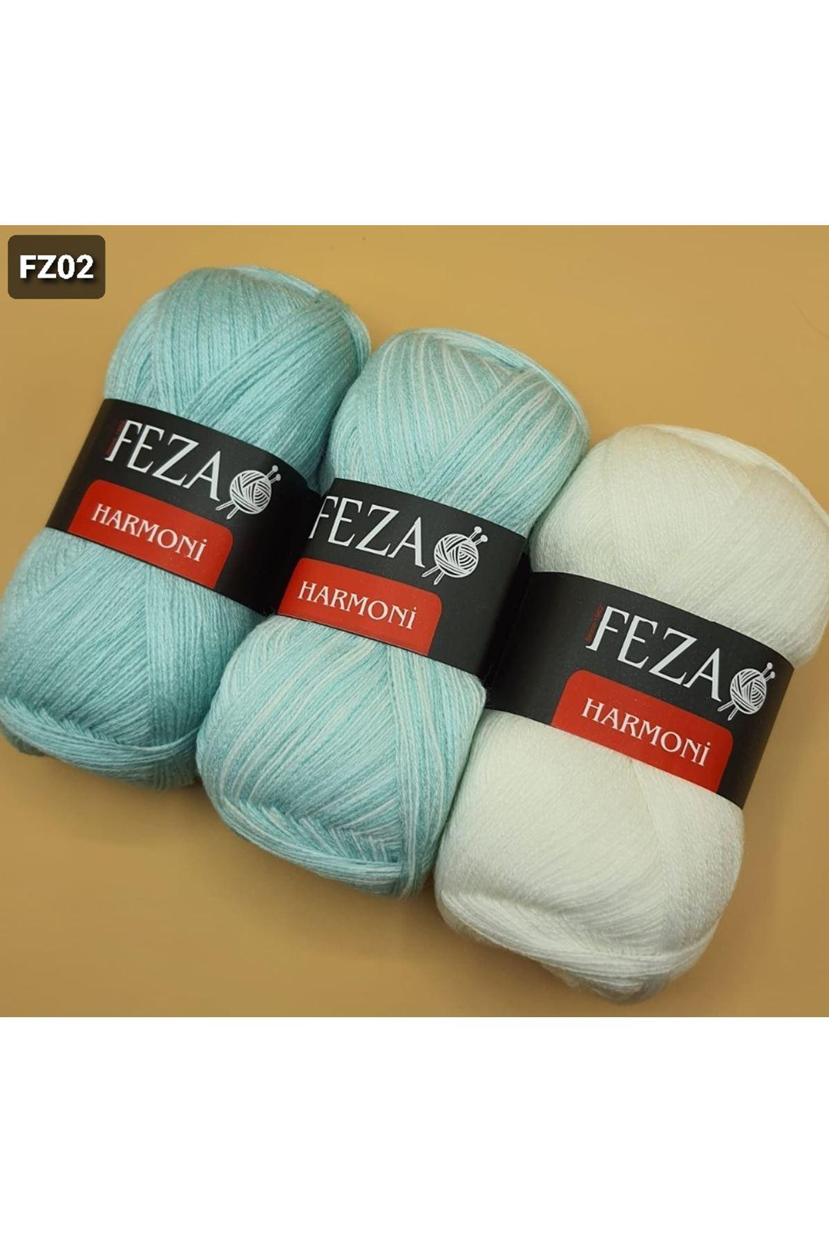 Feza Harmoni Degrade 3x50 Gram Mint Krem Grup 2