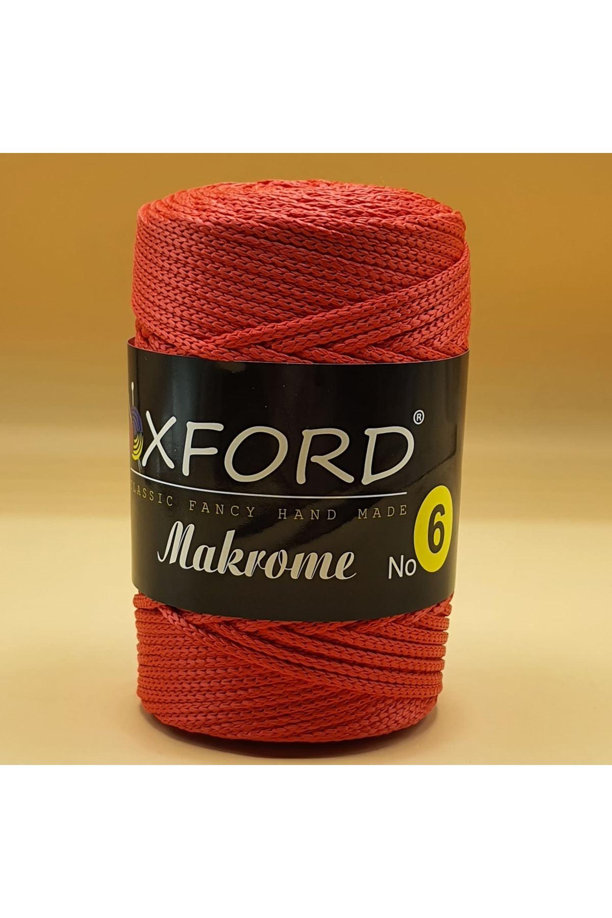 Oxford 6 No Makrome - 109 Kırmızı
