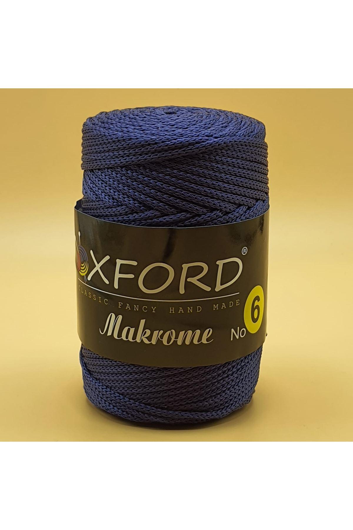 Oxford 6 No Makrome - 110 Lacivert
