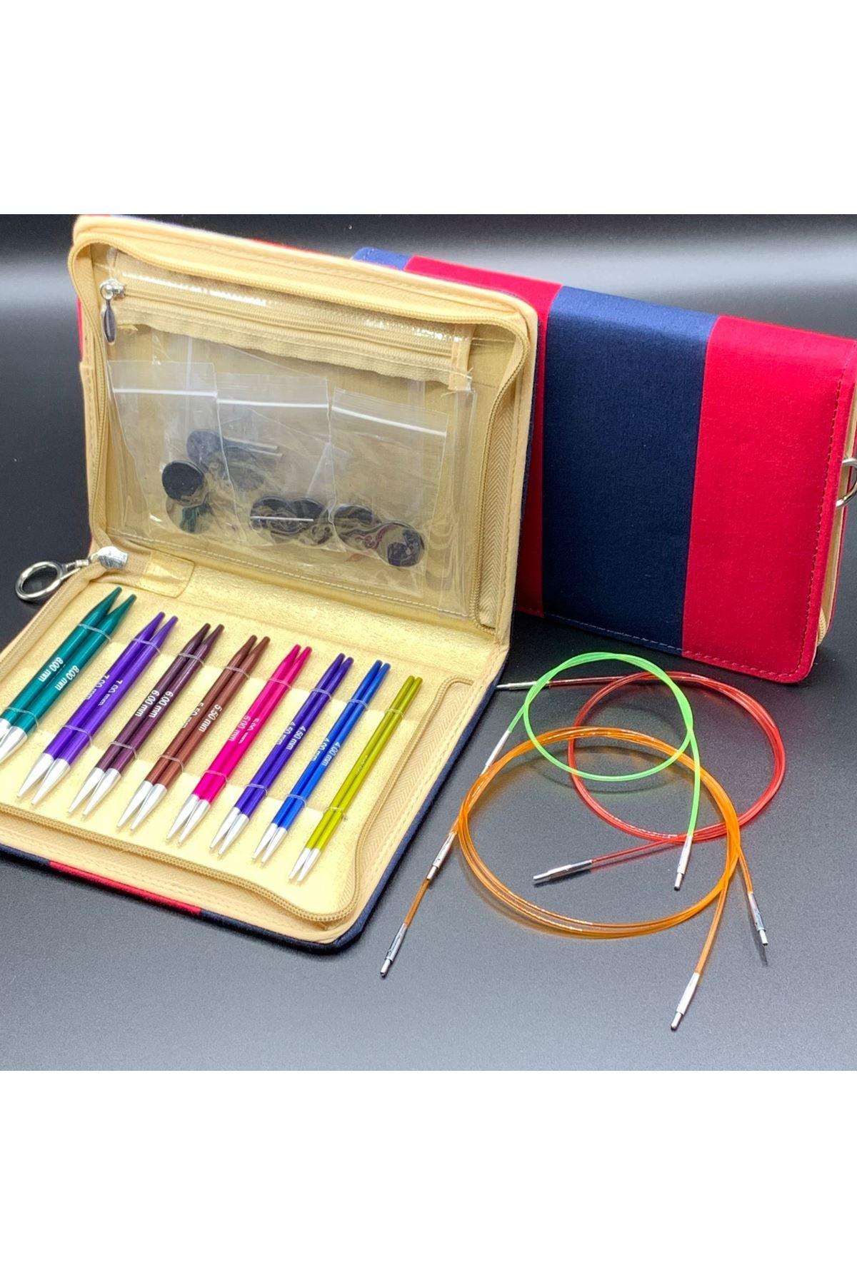 Knit Pro Zing Deluxe Misinalı Şiş Örgü Seti