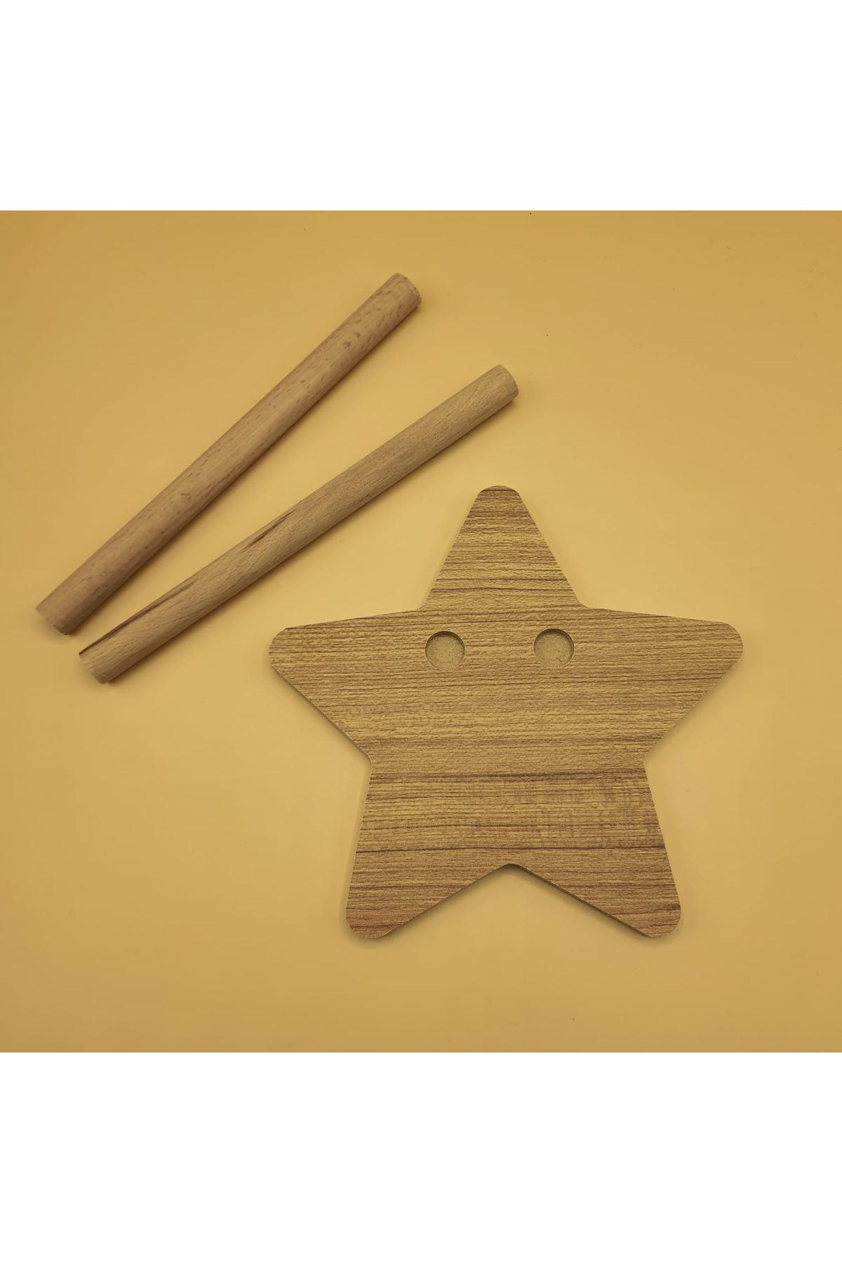 Amigurumi Standı Yıldız