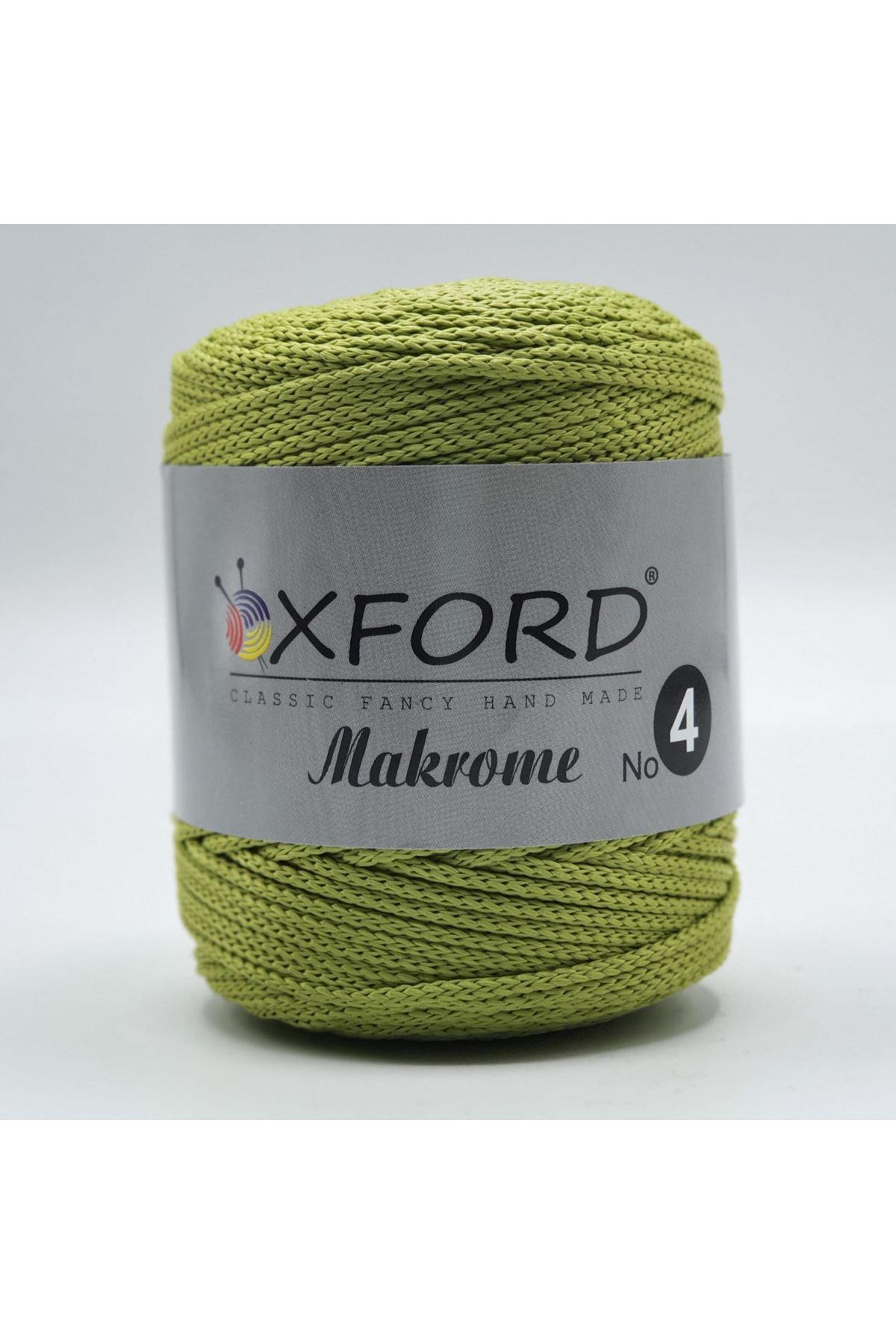 Oxford 4 No Makrome - 32 - Fıstık Yeşil