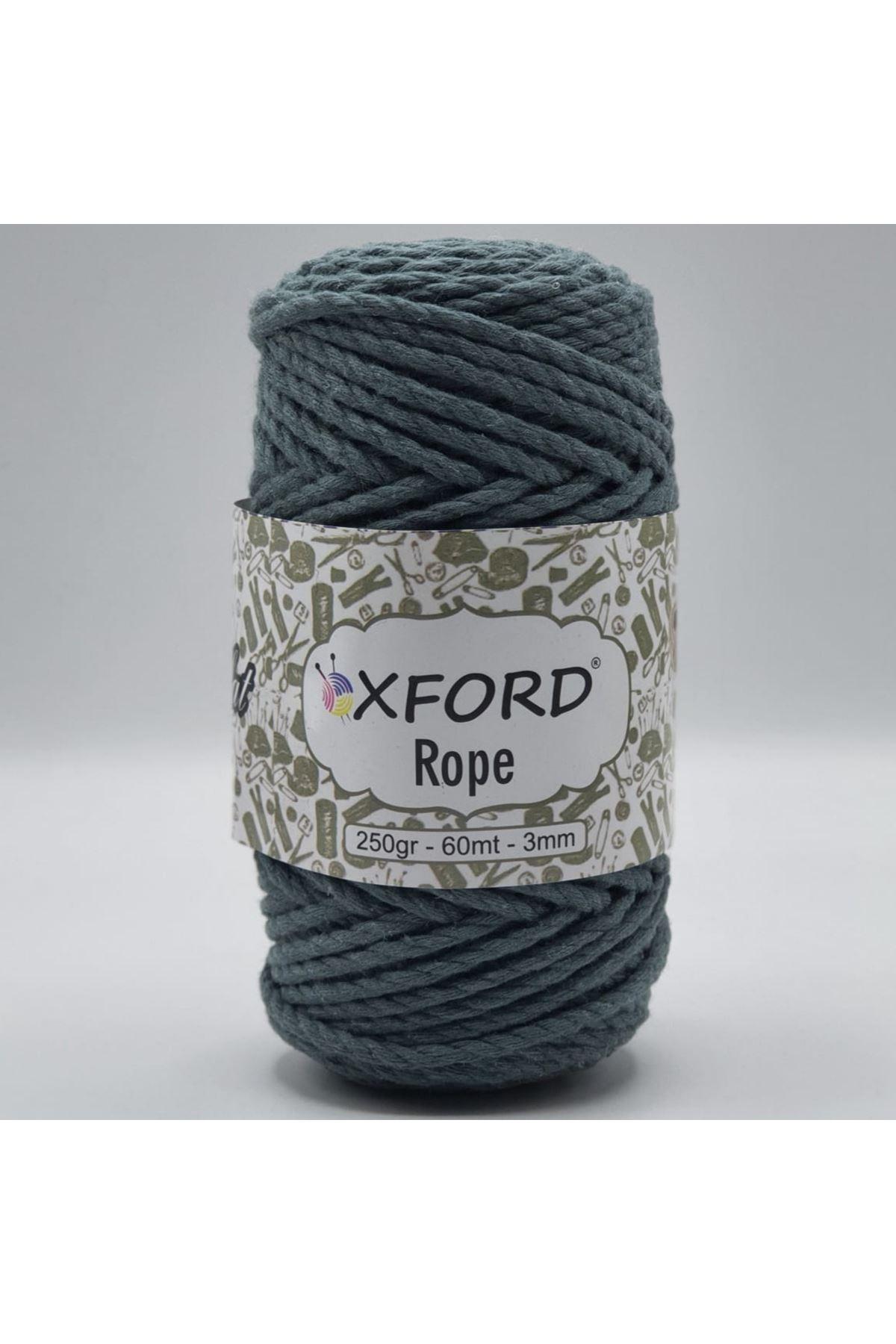 Oxford Rope 3mm 004 Havacı Mavi