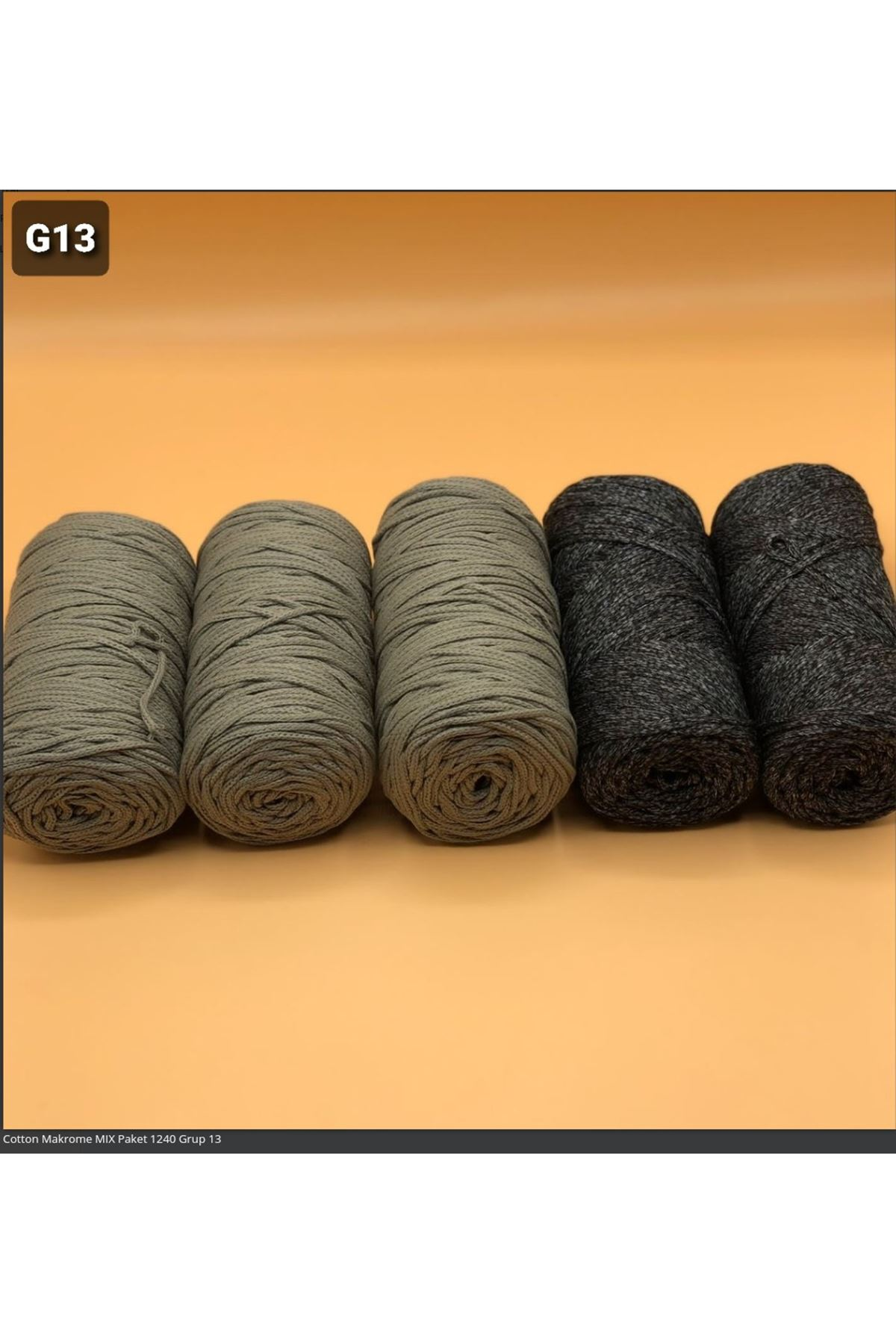 Cotton Makrome MIX Paket 1240 Grup 13