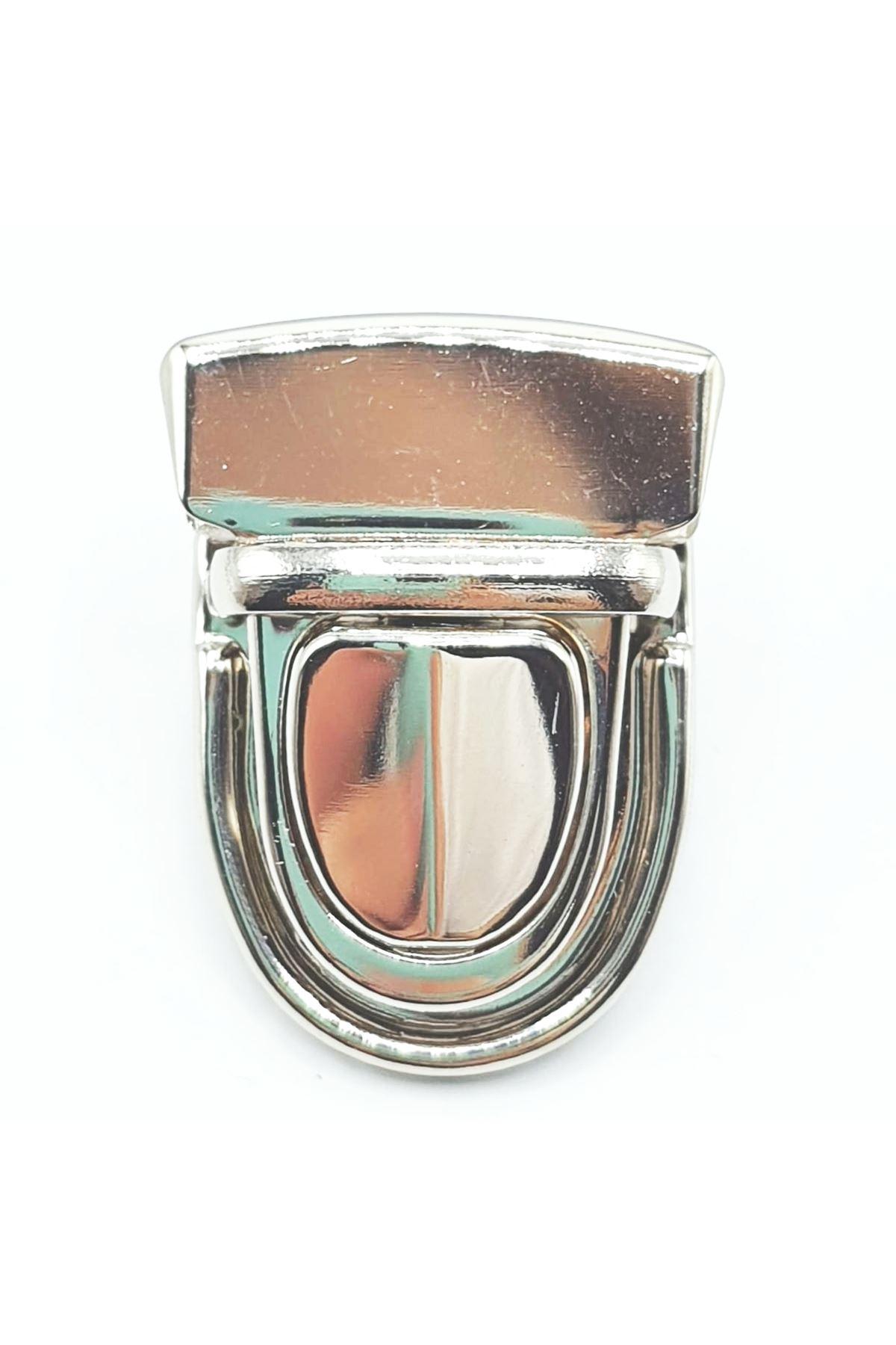 Çanta Kilidi Standart Gümüş