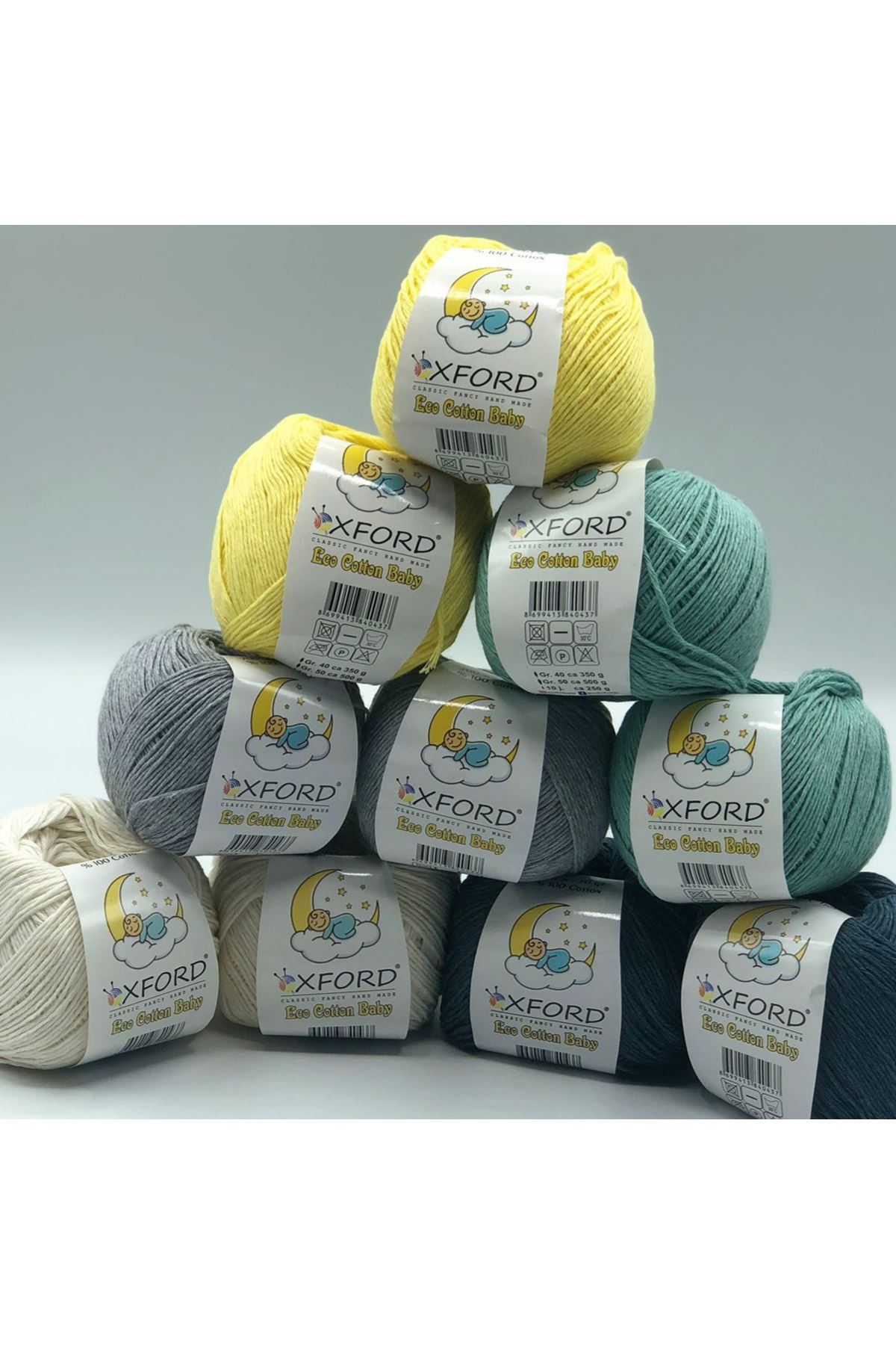 Eco Cotton Baby 10'lu Paket - 14