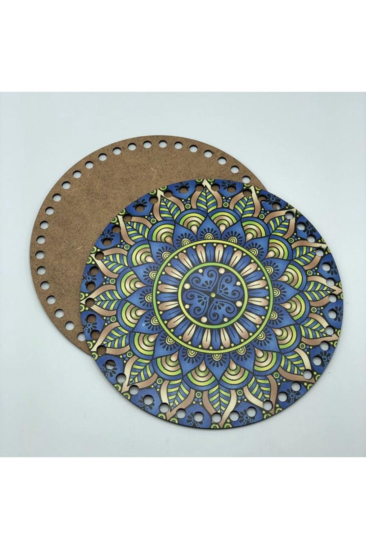 Desenli Çanta Tabanı 20cm Çap - 7