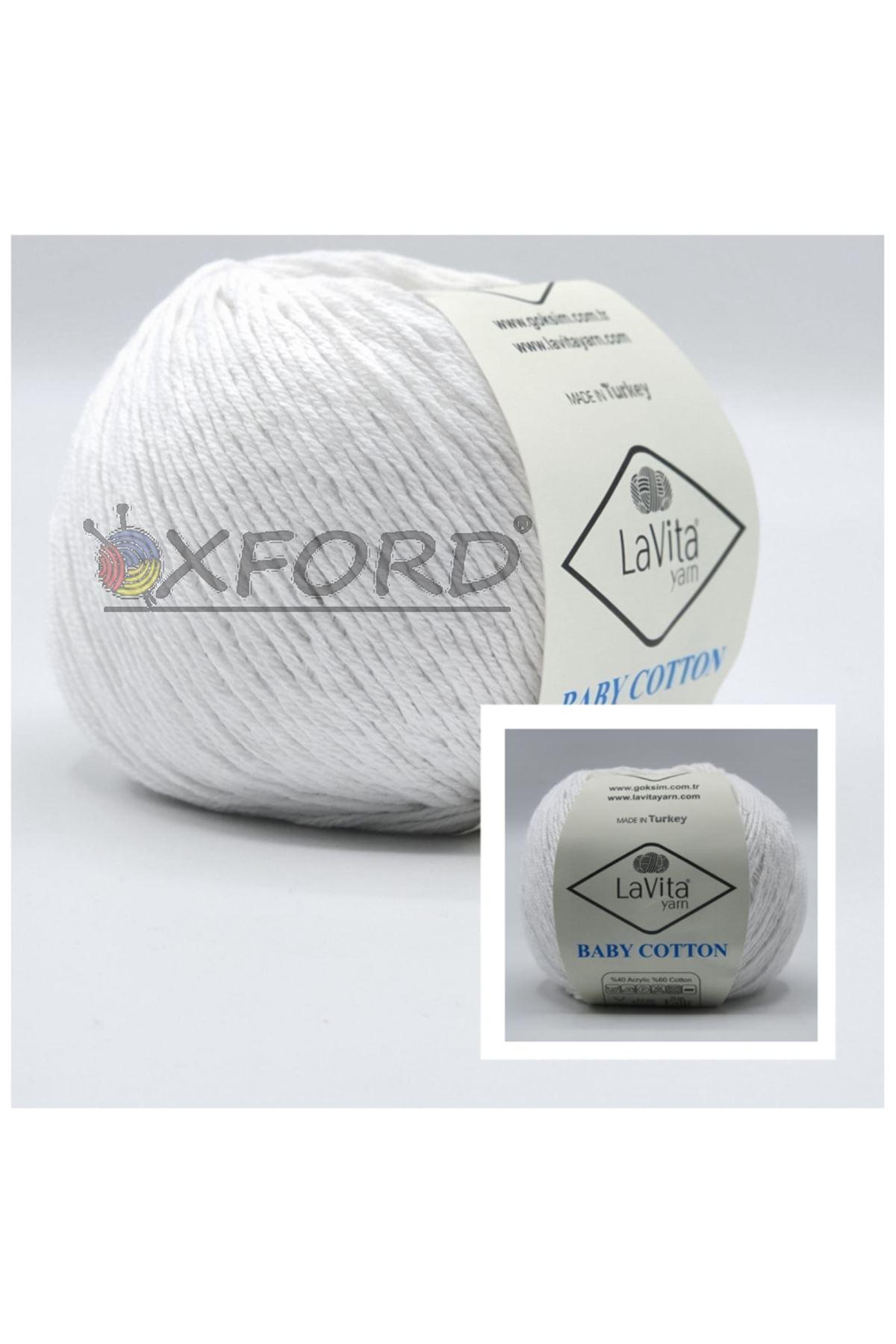Lavita Baby Cotton Beyaz