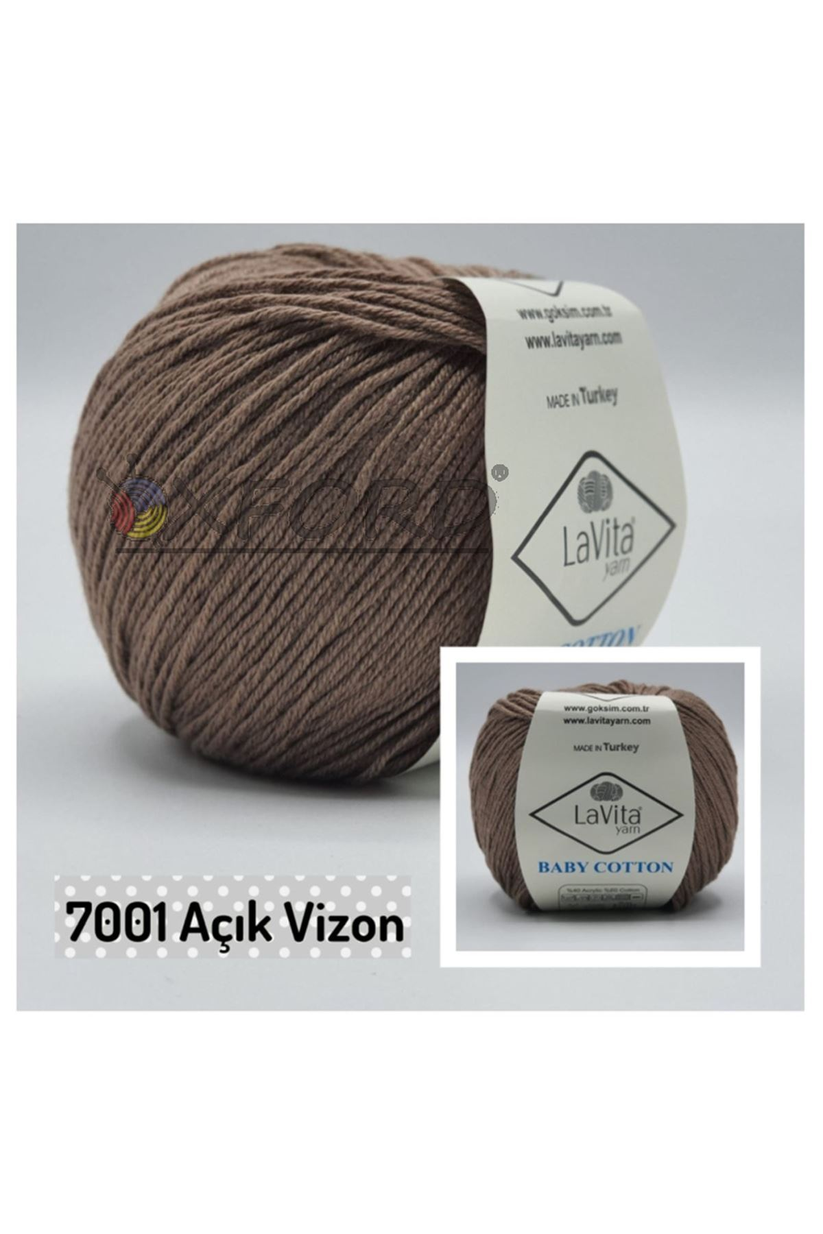 Lavita Baby Cotton 7001 Açık Vizon