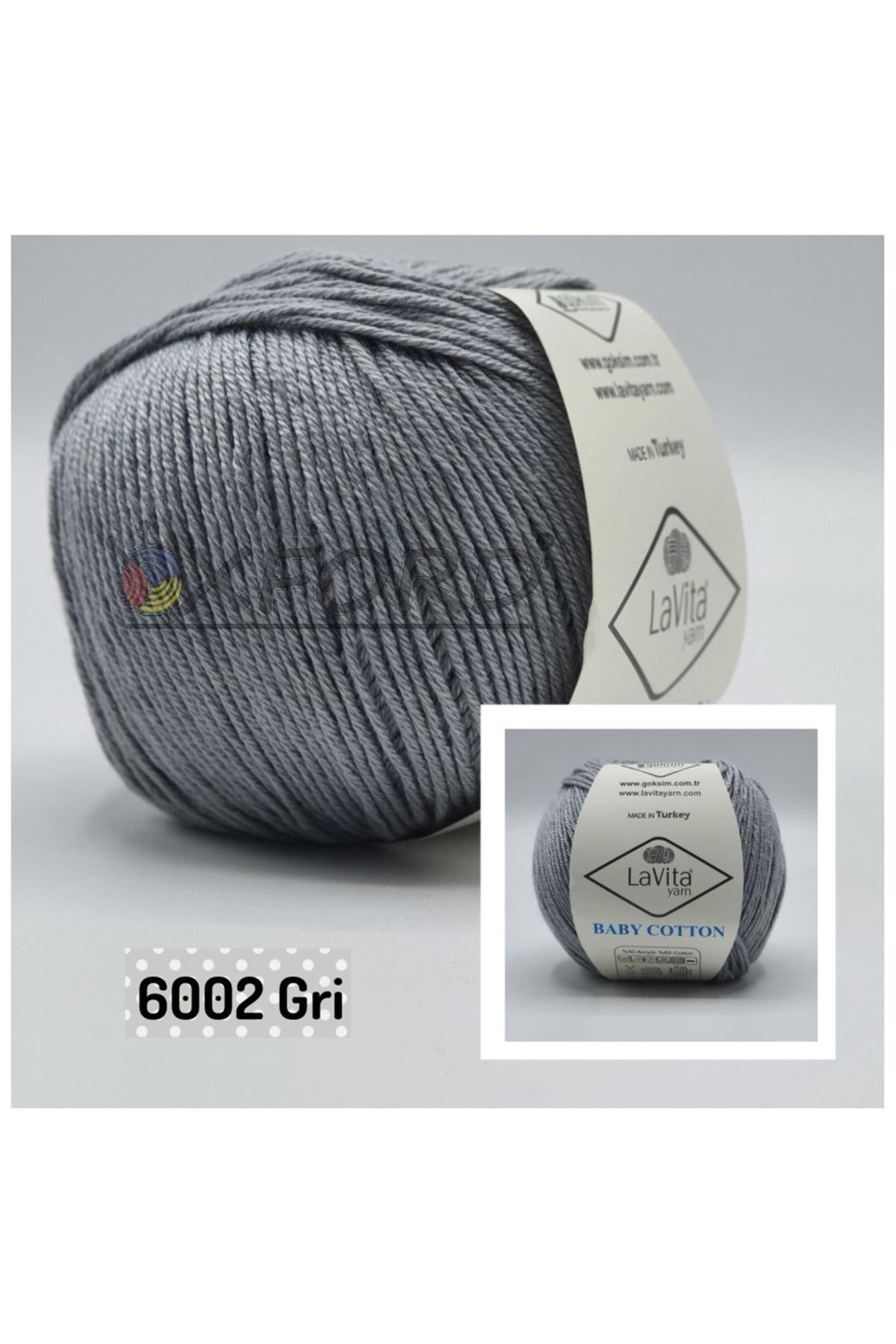 Lavita Baby Cotton 6002 Gri