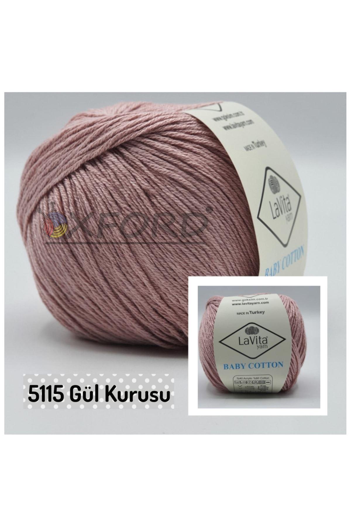 Lavita Baby Cotton 5115 Gülkurusu