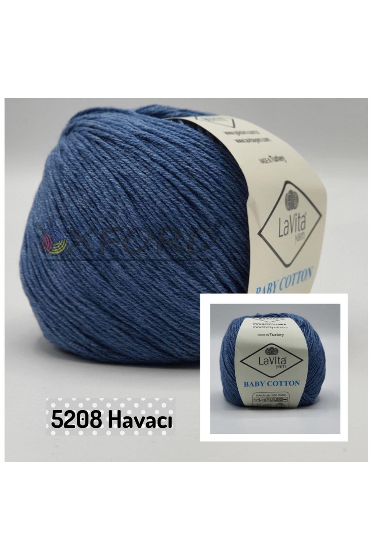 Lavita Baby Cotton 5208 Havacı Mavi