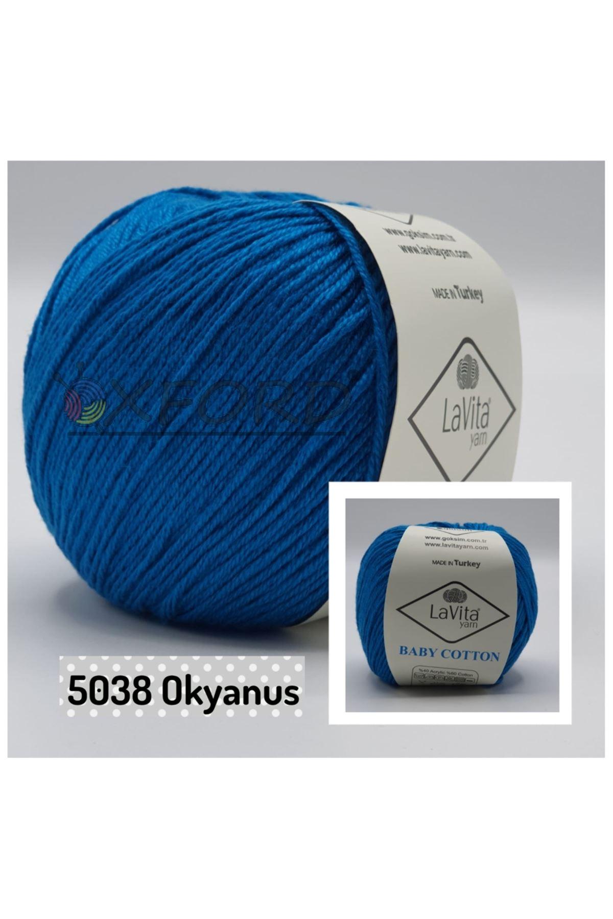 Lavita Baby Cotton 5038 Okyanus
