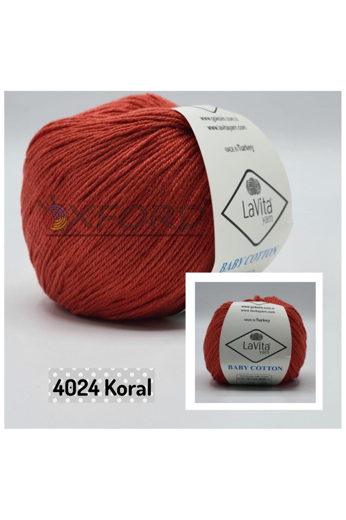 Lavita Baby Cotton 4024 Koral