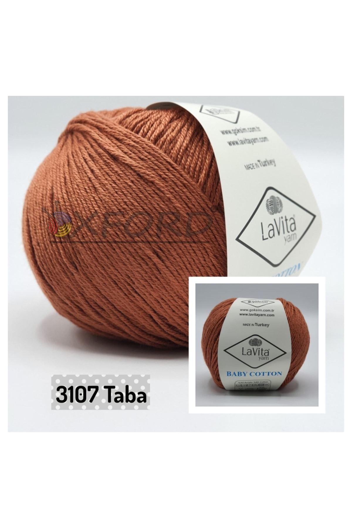 Lavita Baby Cotton 3107 Taba