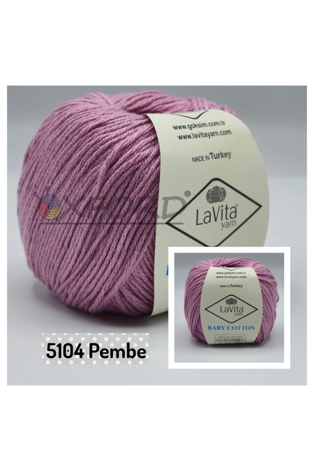 Lavita Baby Cotton 5104 Pembe