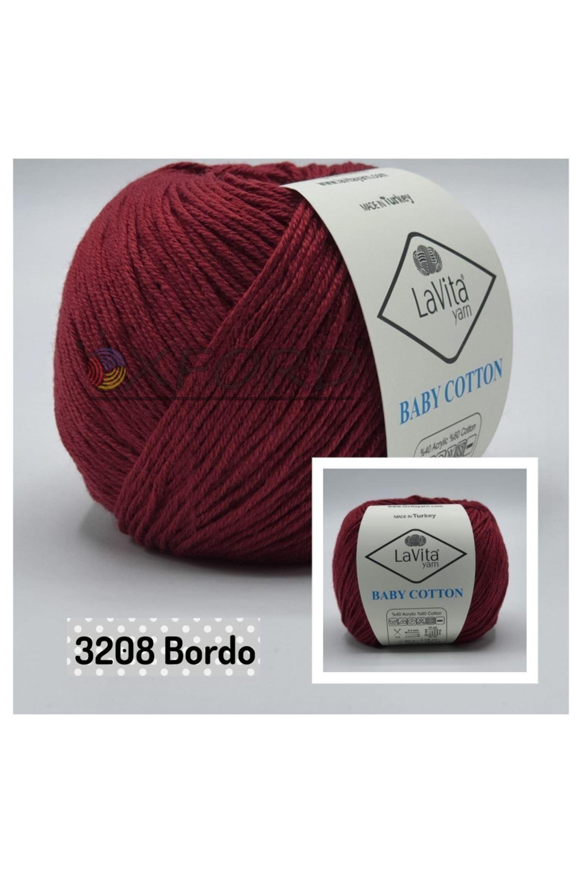 Lavita Baby Cotton 3208 Bordo