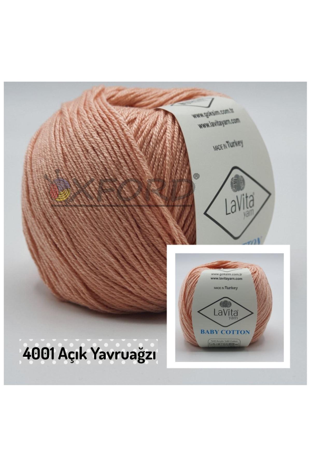 Lavita Baby Cotton 4001 Açık Yavruağzı