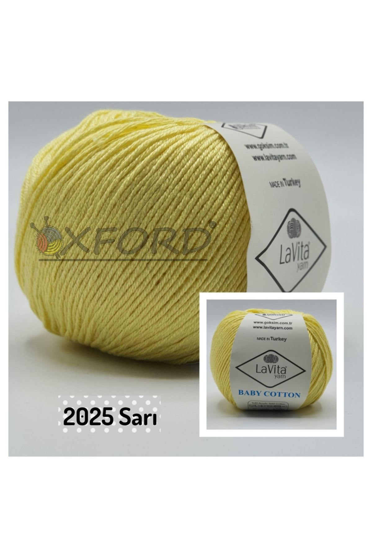Lavita Baby Cotton 2025 Sarı