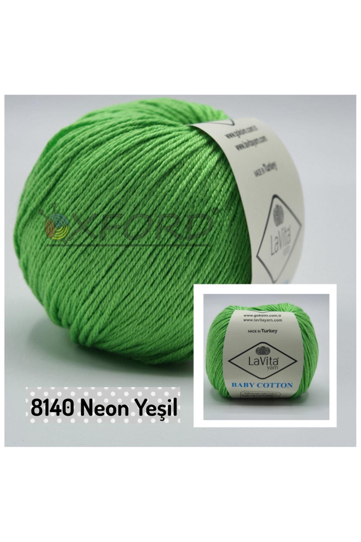 Lavita Baby Cotton 8140 Neon Yeşil