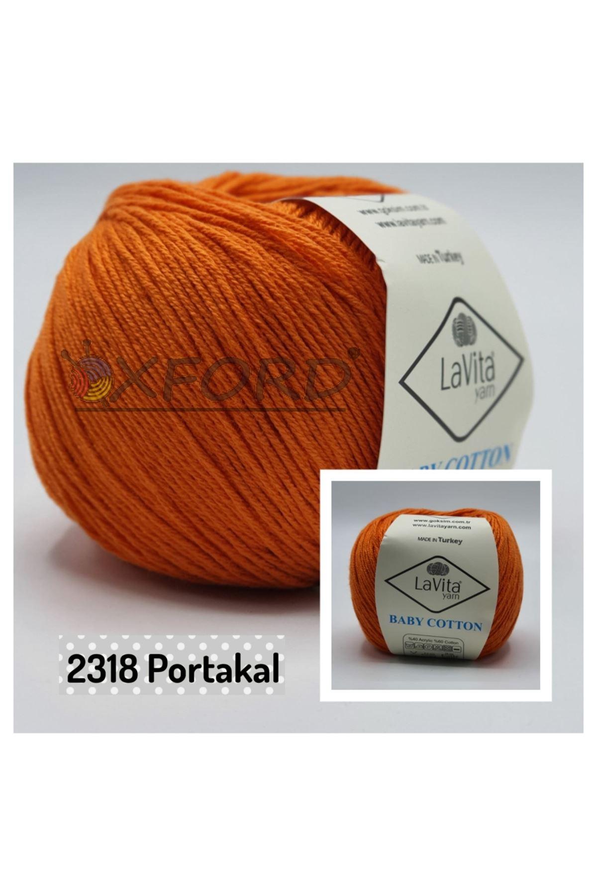 Lavita Baby Cotton 2318 Portakal