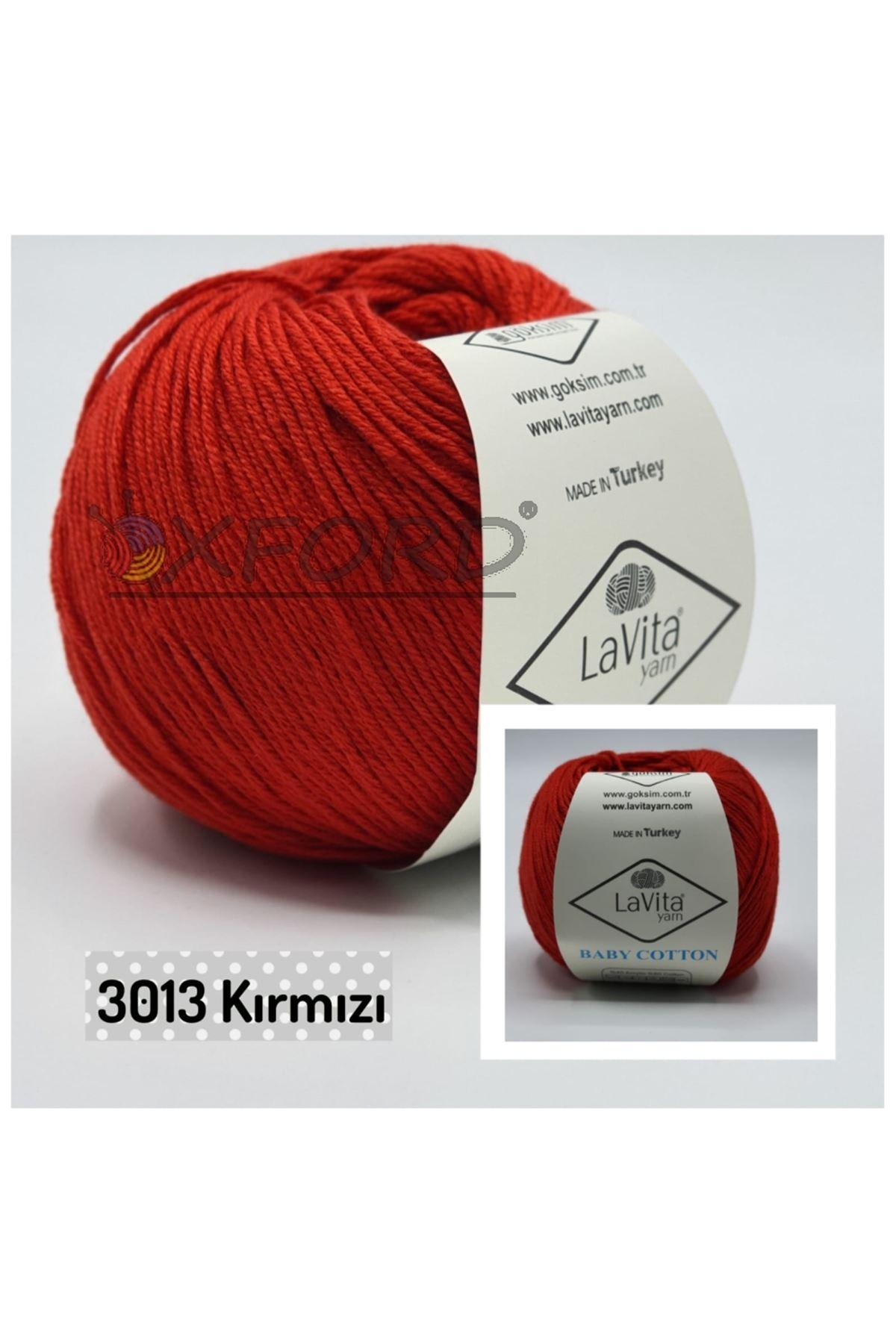 Lavita Baby Cotton 3013 Kırmızı