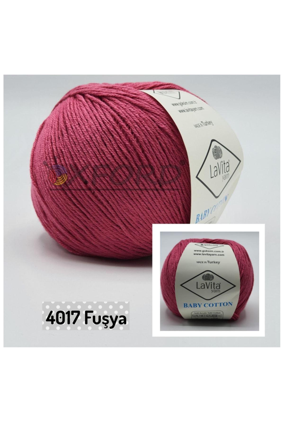 Lavita Baby Cotton 4017 Fuşya