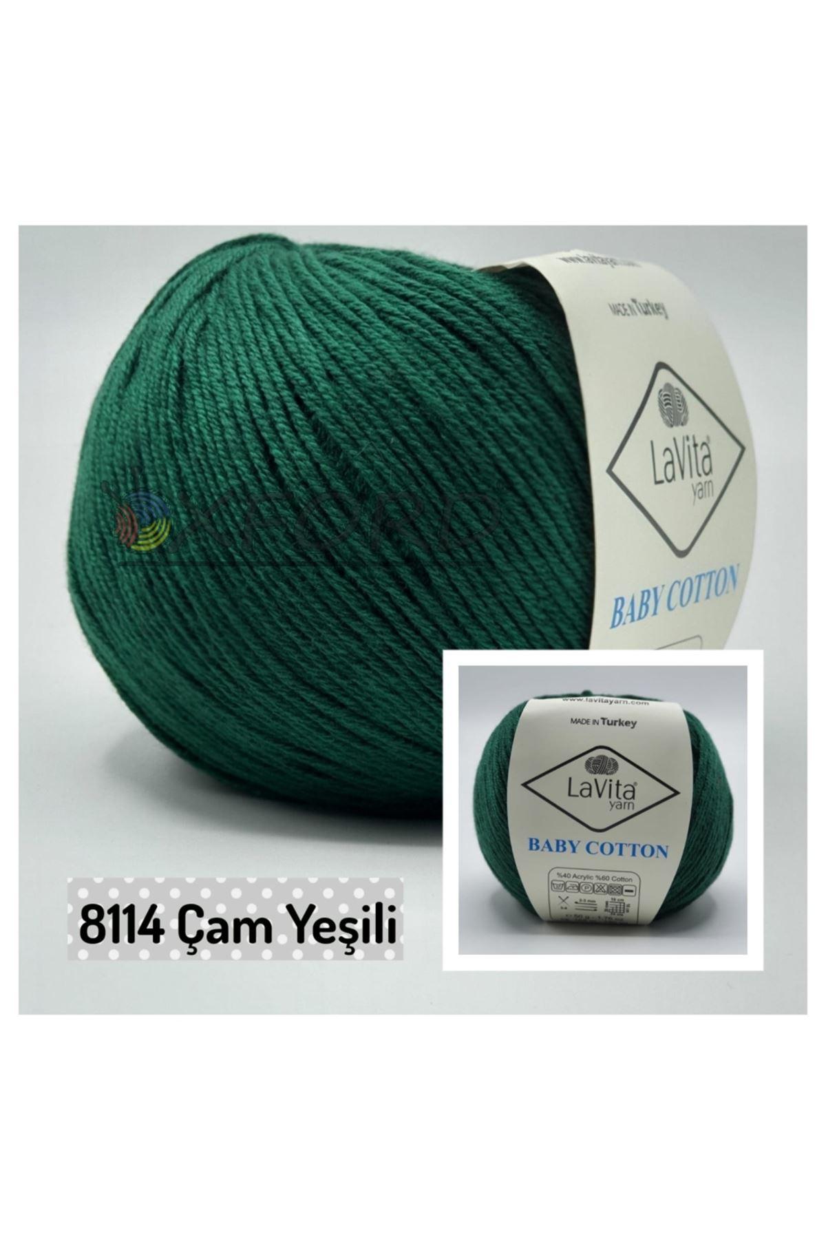 Lavita Baby Cotton 8114 Çam Yeşili