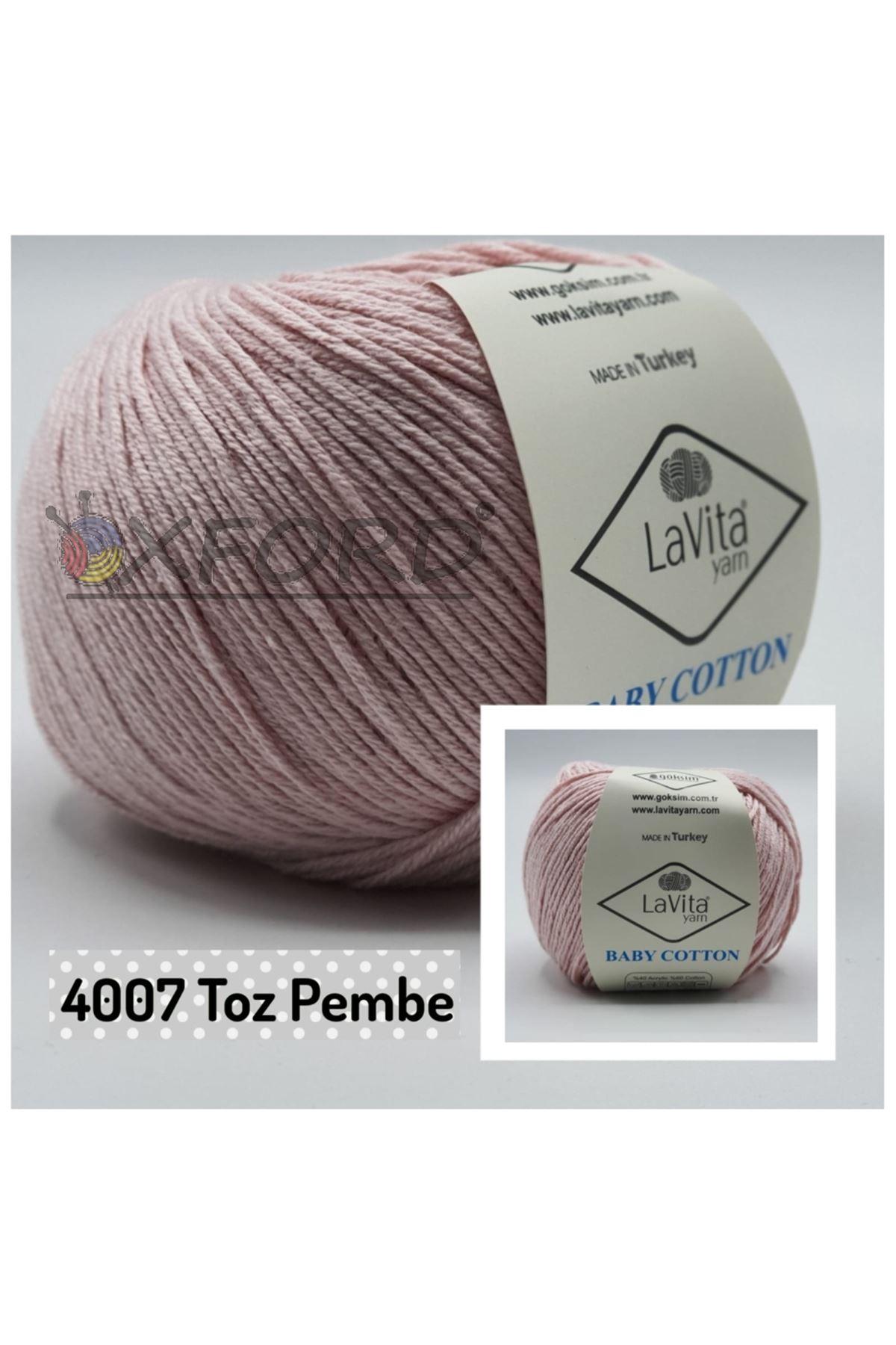 Lavita Baby Cotton 4007 Toz Pembe